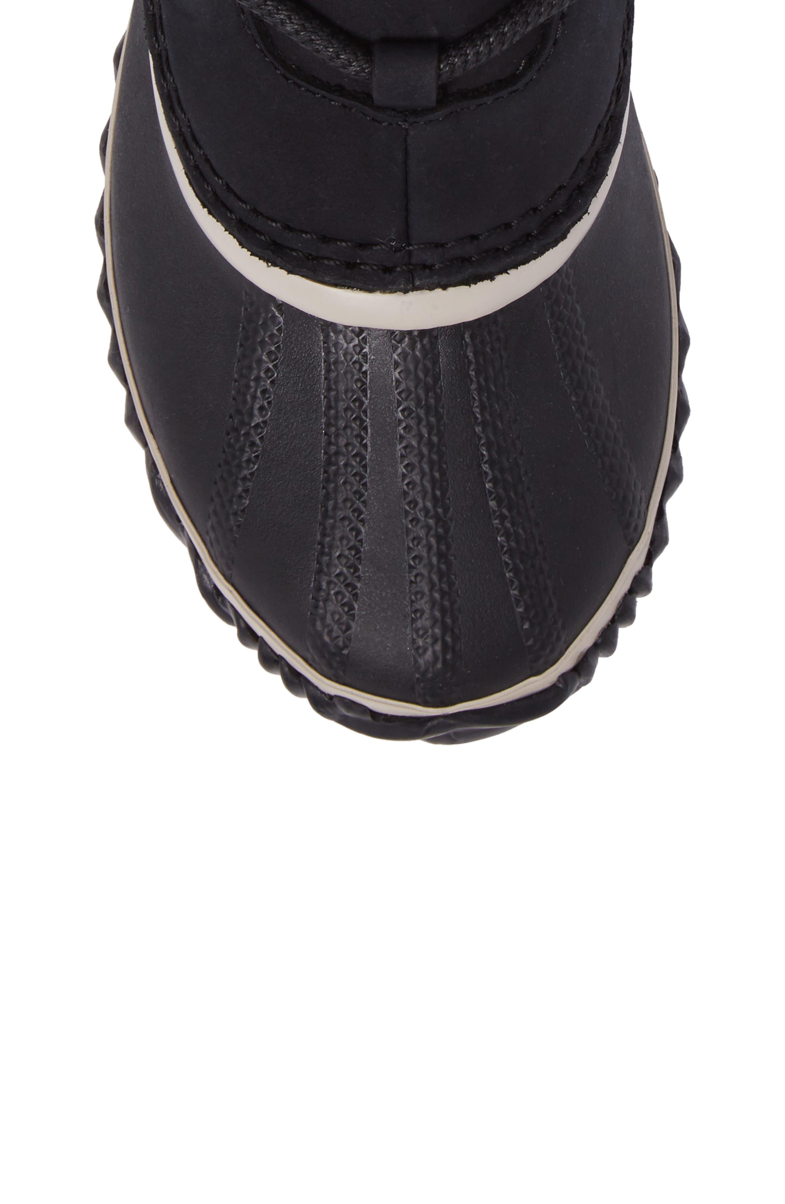 Caribou Slim Waterproof Boot,                             Alternate thumbnail 5, color,                             010