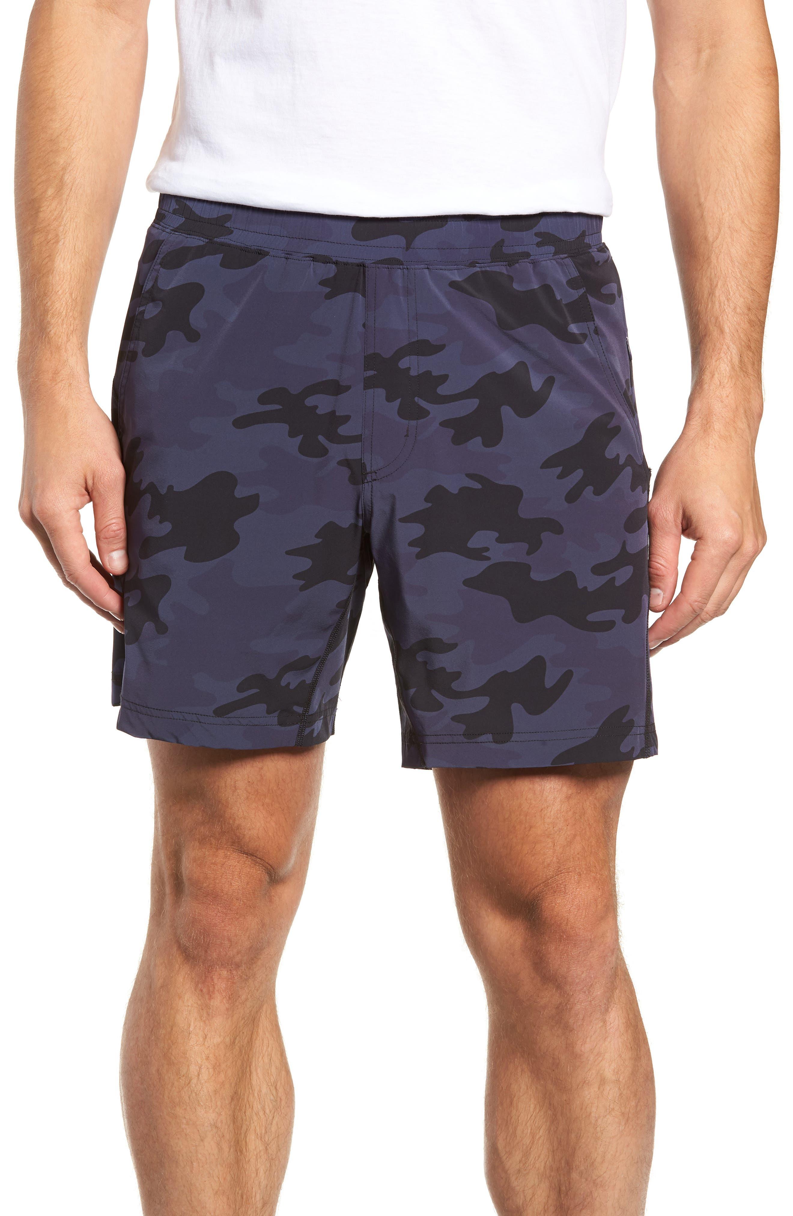 Mako Training Shorts,                         Main,                         color, NAVY CAMO