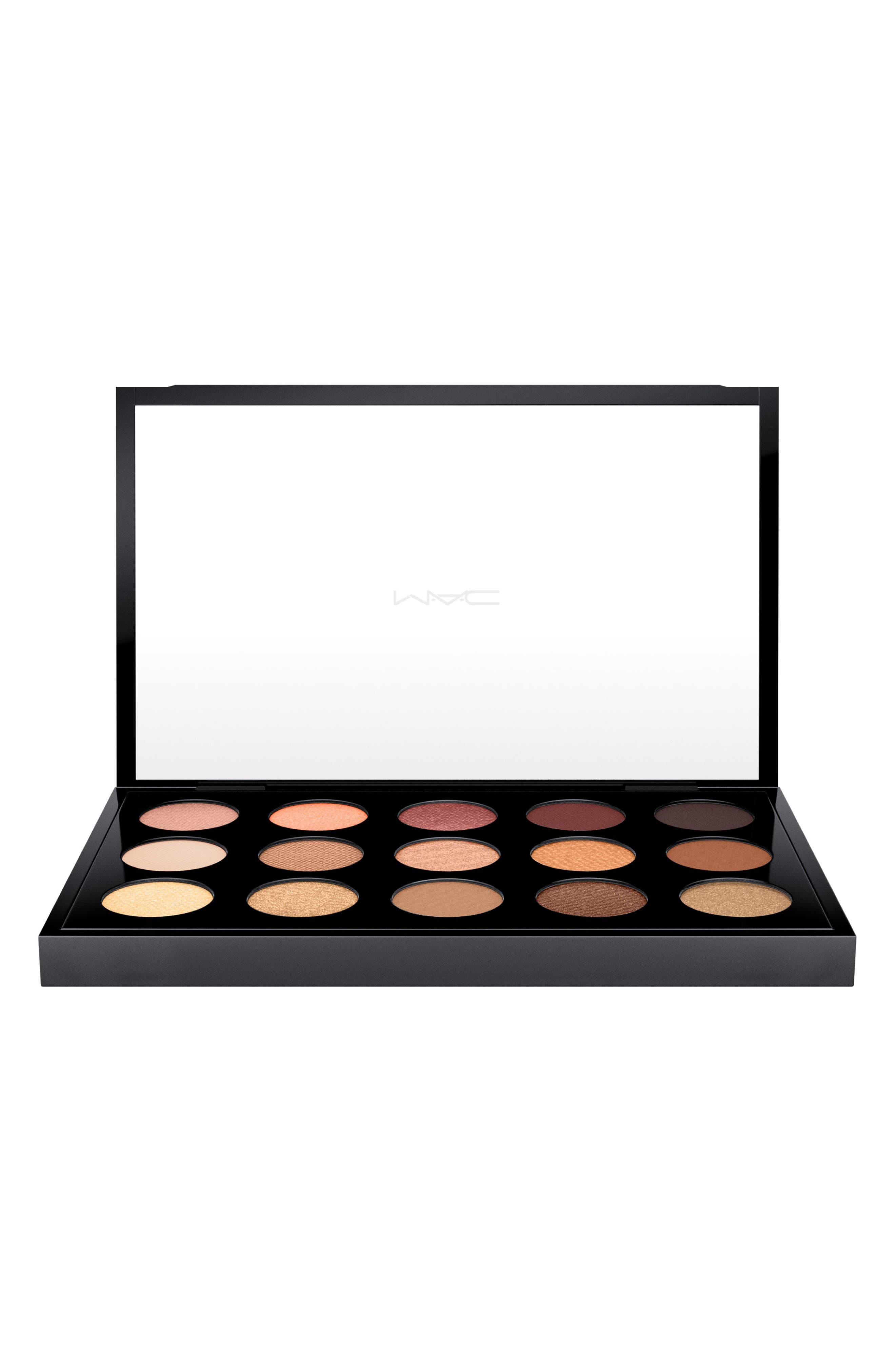 MAC Cool Neutral Times 15 Eyeshadow Palette,                             Alternate thumbnail 3, color,                             200