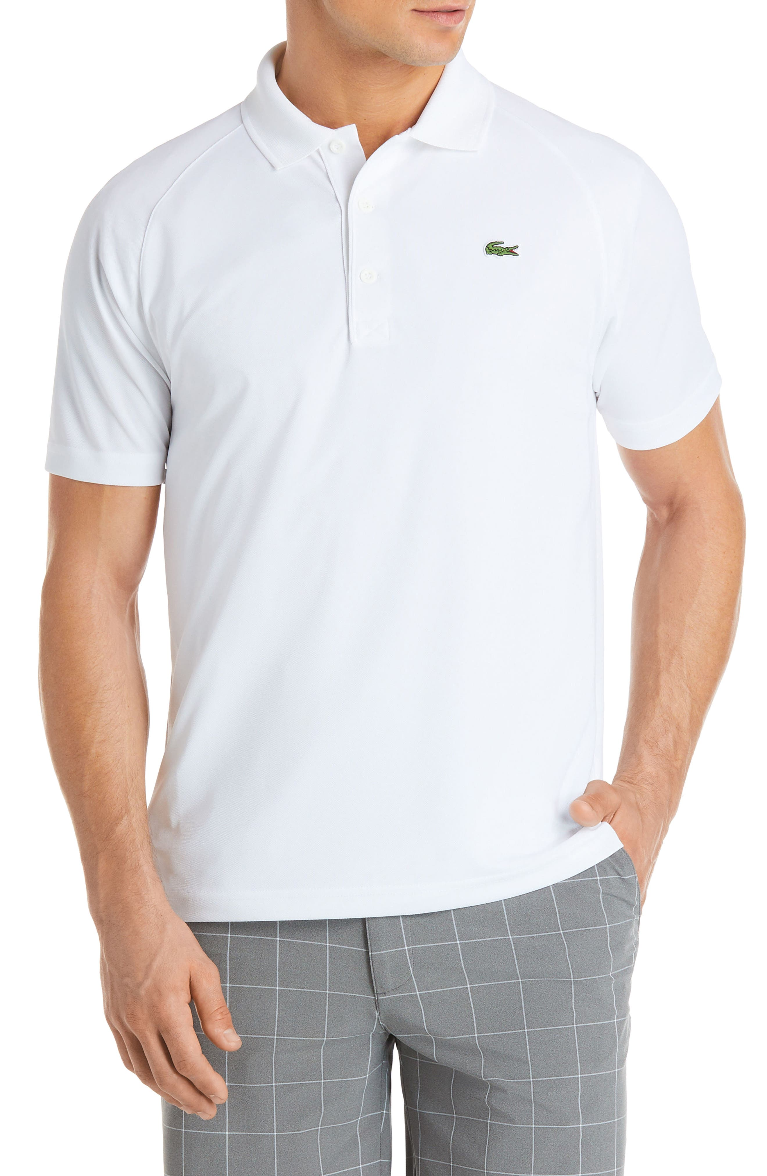 Ultra Dry Polo,                         Main,                         color, WHITE
