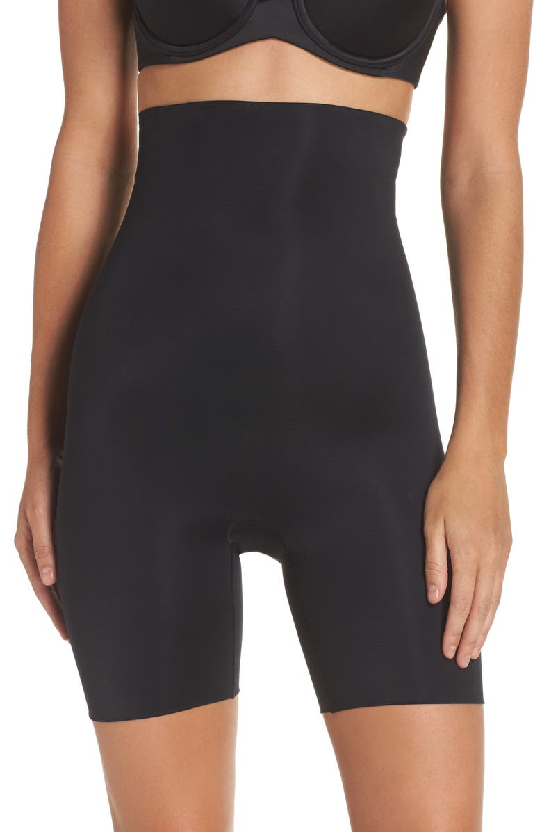510d36ba416 SPANX® Power Conceal-Her High Waist Mid-Thigh Shaping Shorts