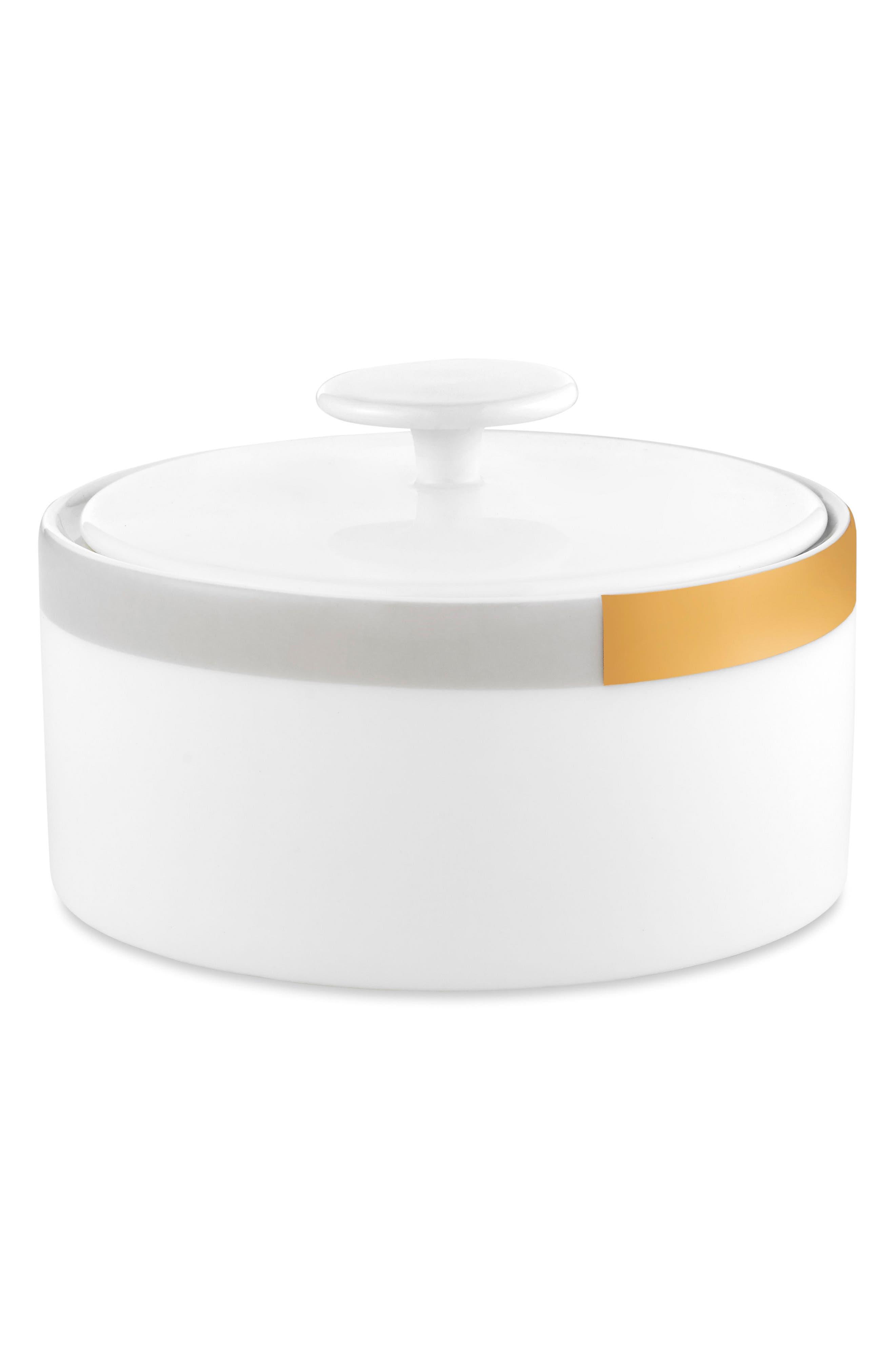 x Wedgwood Castillon Bone China Sugar Bowl,                         Main,                         color, 100
