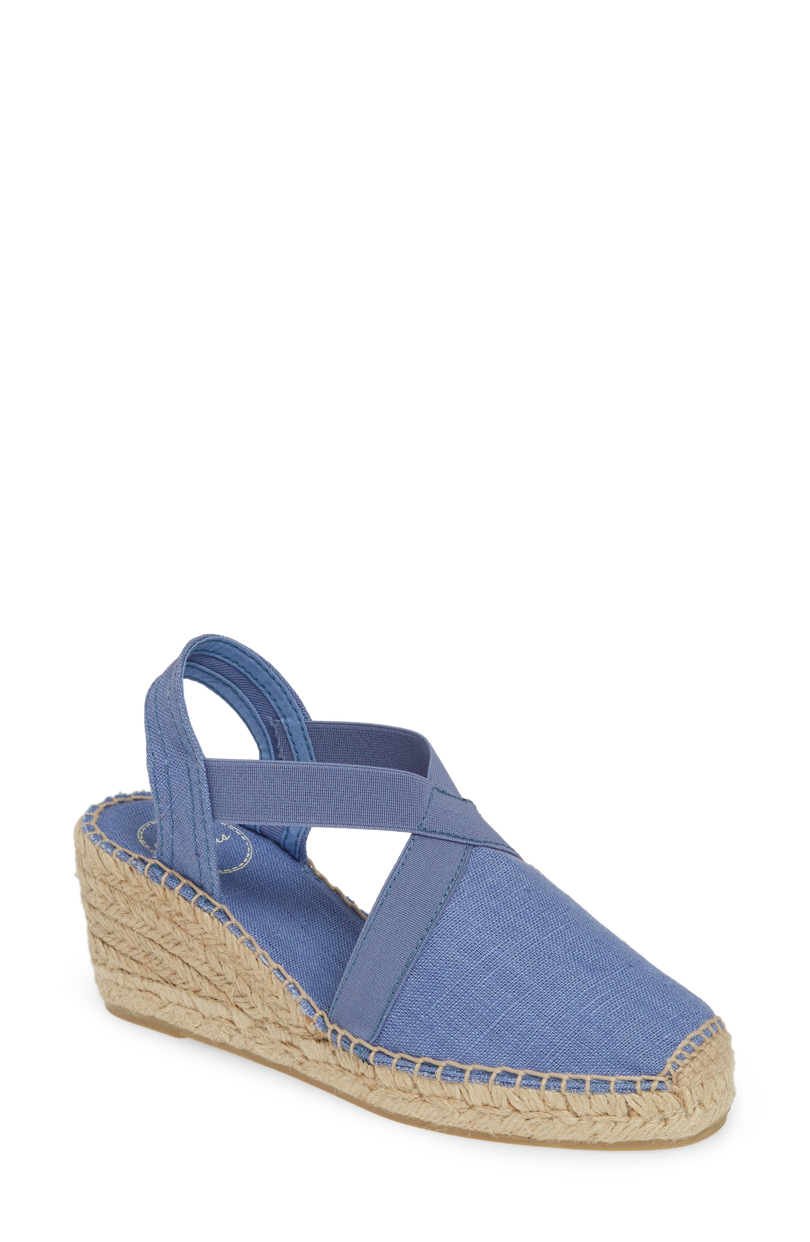 TONI PONS 'Ter' Slingback Espadrille Sandal, Main, color, ULTRAMARINE FABRIC