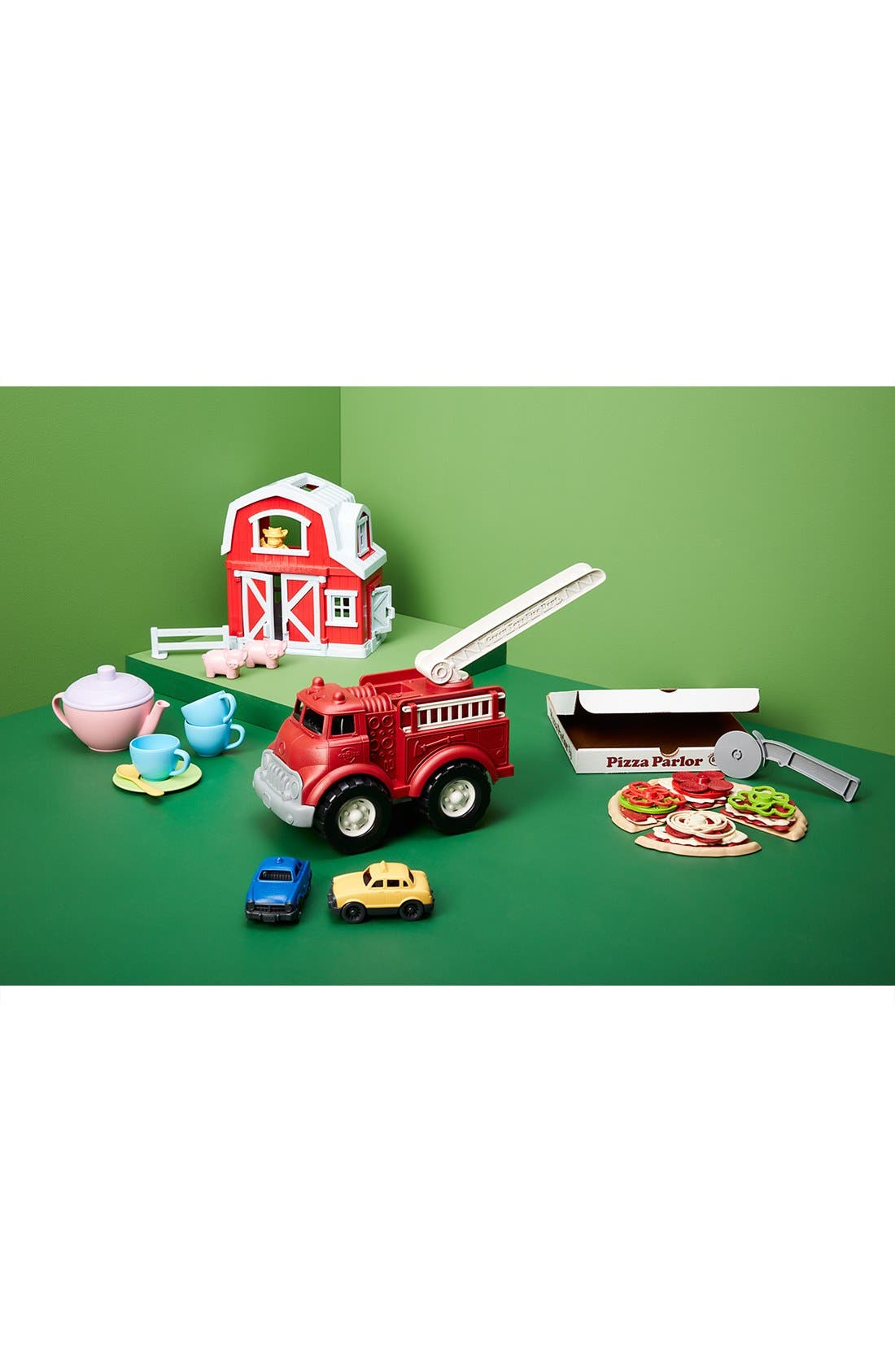 Fire Truck Toy,                             Alternate thumbnail 3, color,                             680