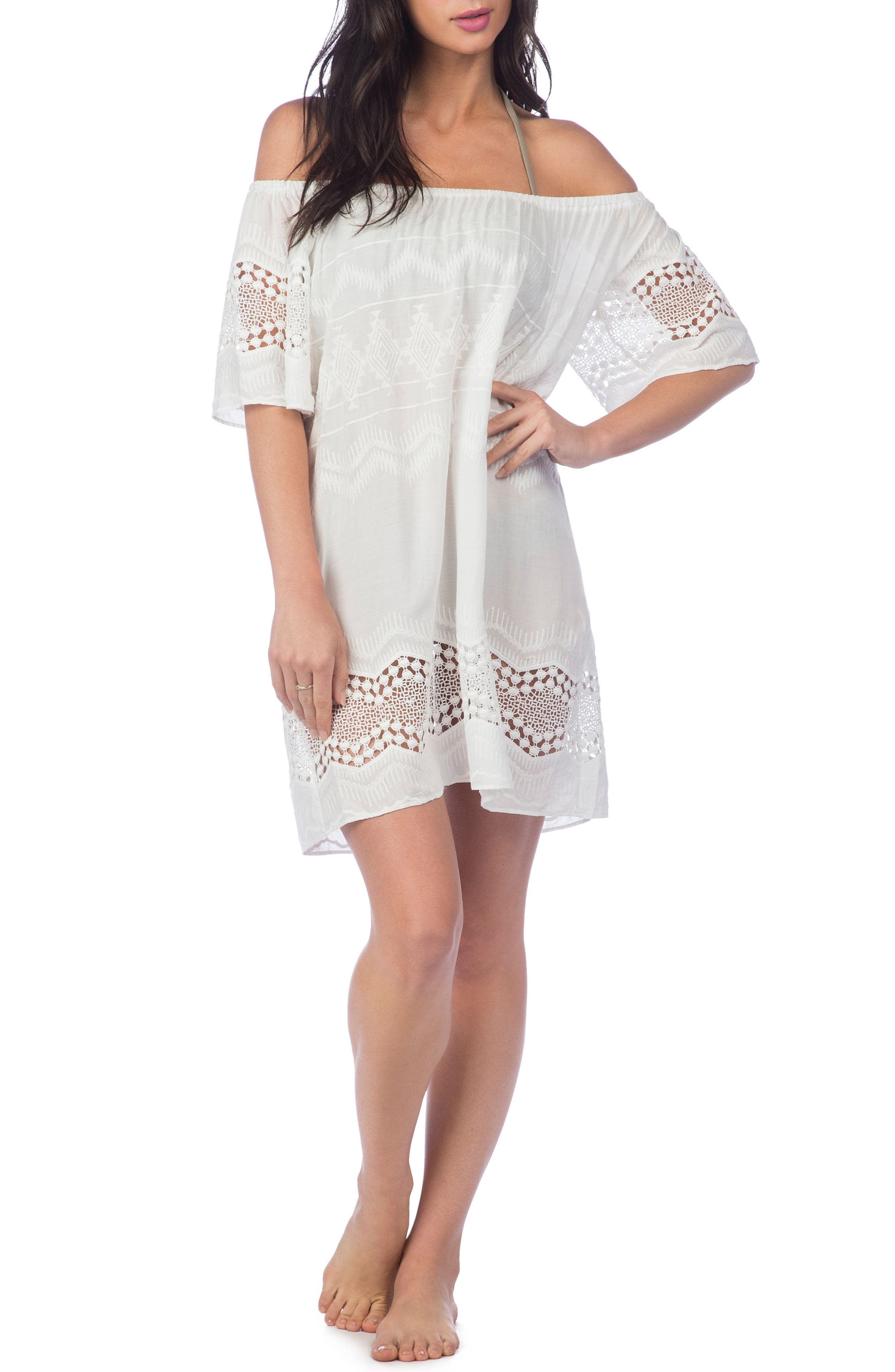 Cover-Up Dress,                         Main,                         color, 100