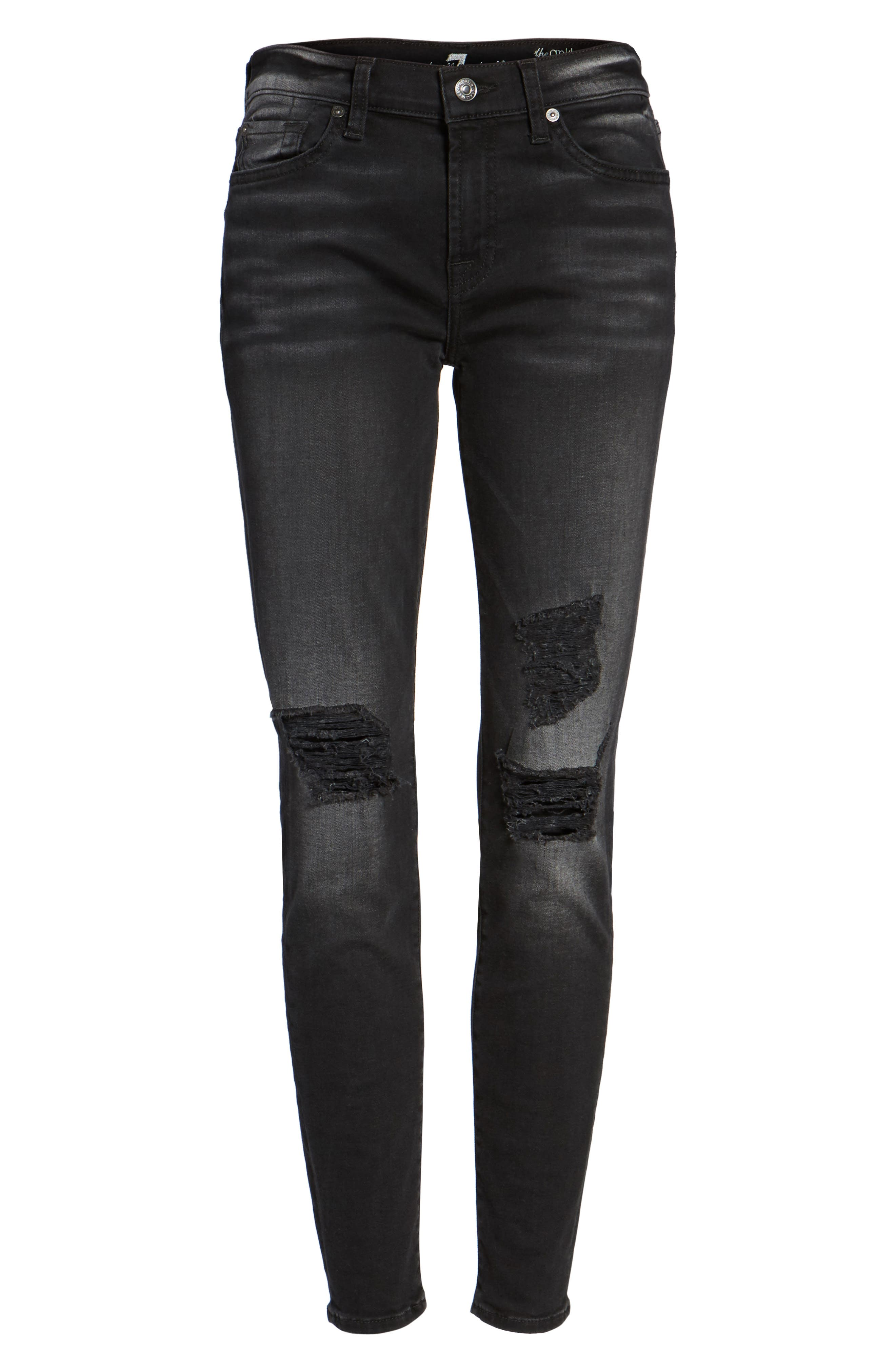 Seven7 The Ankle Skinny Jeans,                             Alternate thumbnail 6, color,                             004