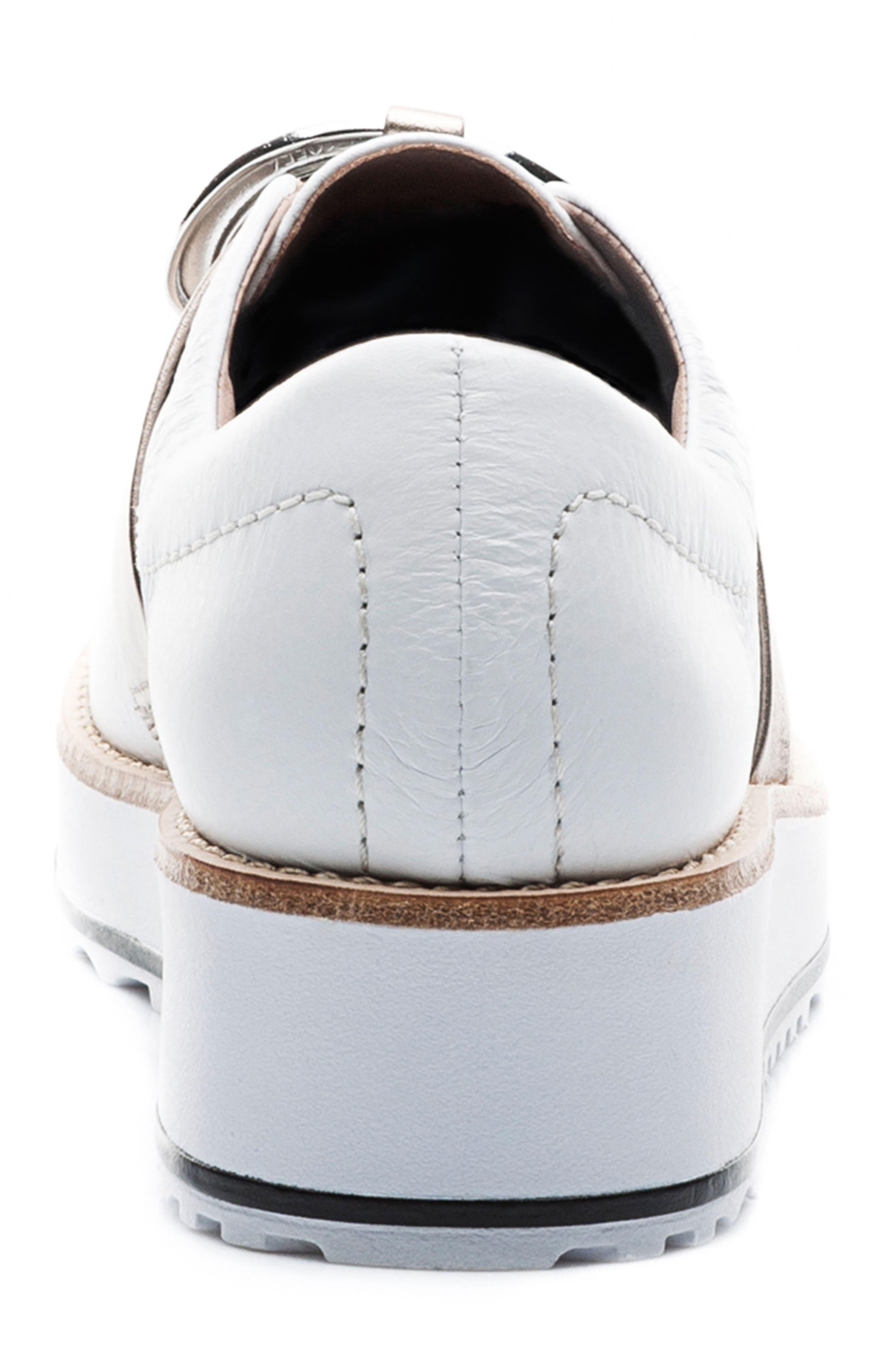 Susan Wedge Sneaker,                             Alternate thumbnail 7, color,                             100