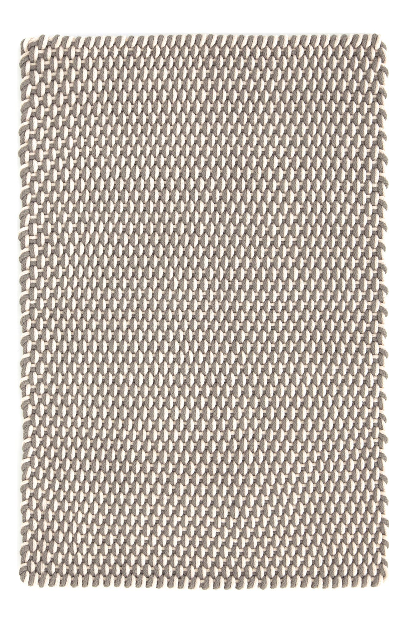Woven Rope Rug,                             Main thumbnail 1, color,                             FIELDSTONE/ IVORY