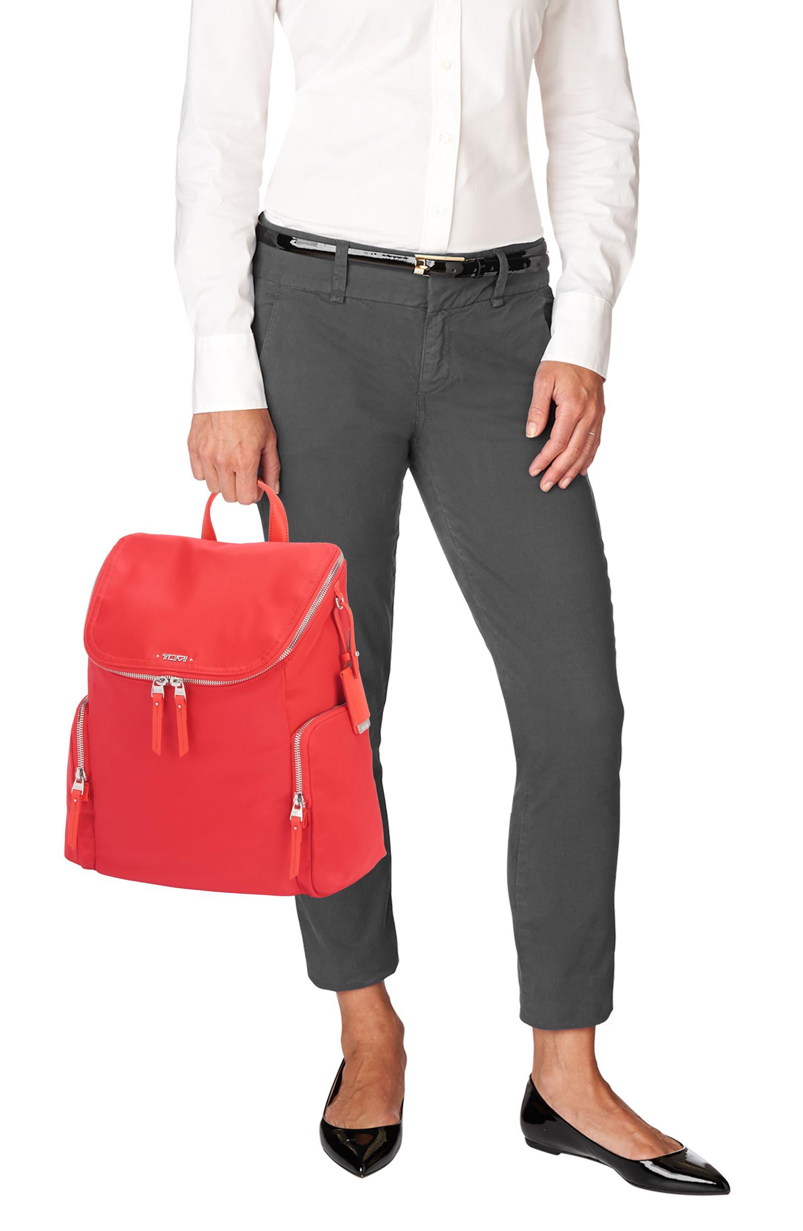 Voyageur Lexa Nylon Backpack,                             Alternate thumbnail 8, color,