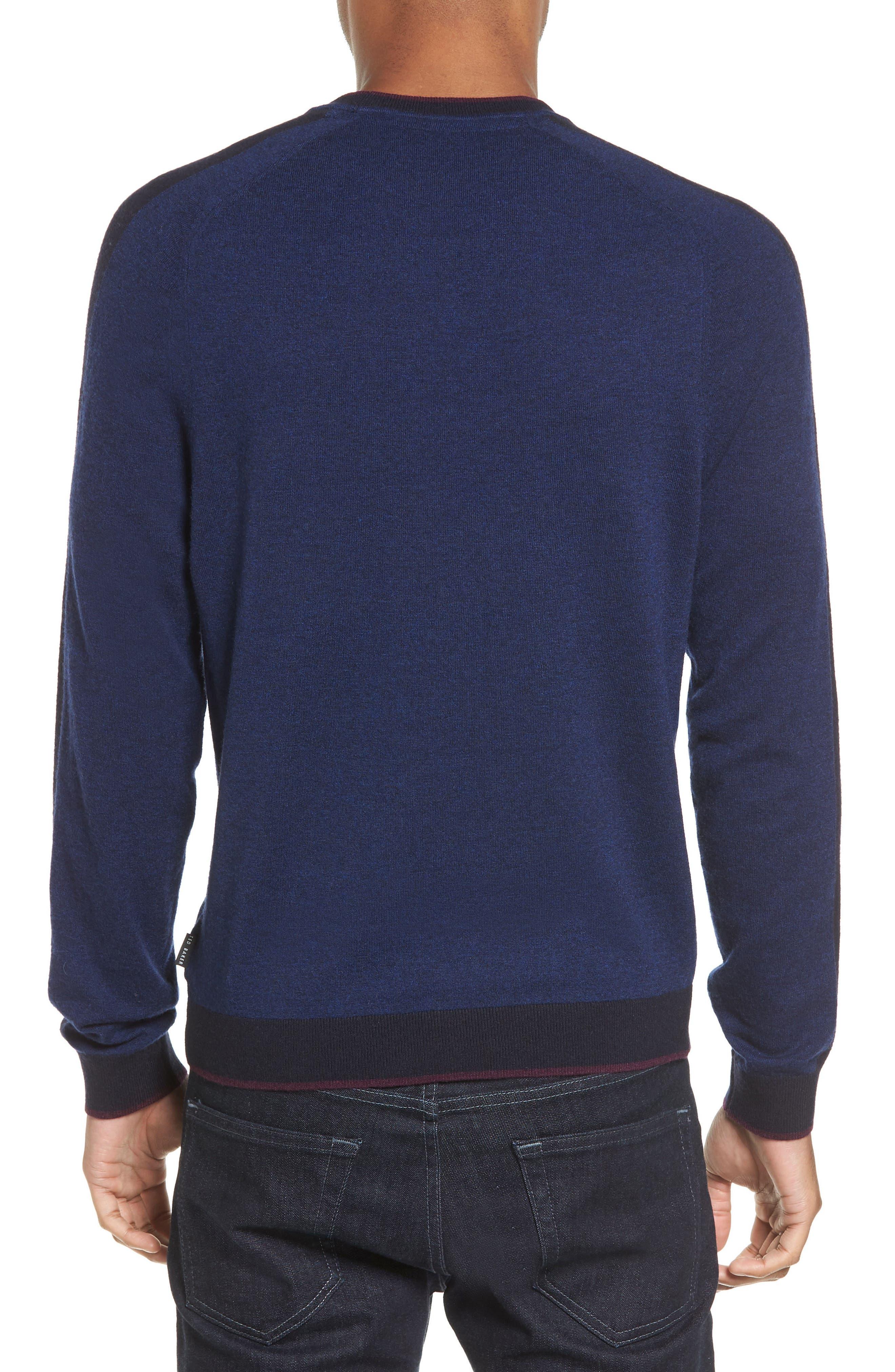 Norpol Crewneck Sweater,                             Alternate thumbnail 7, color,