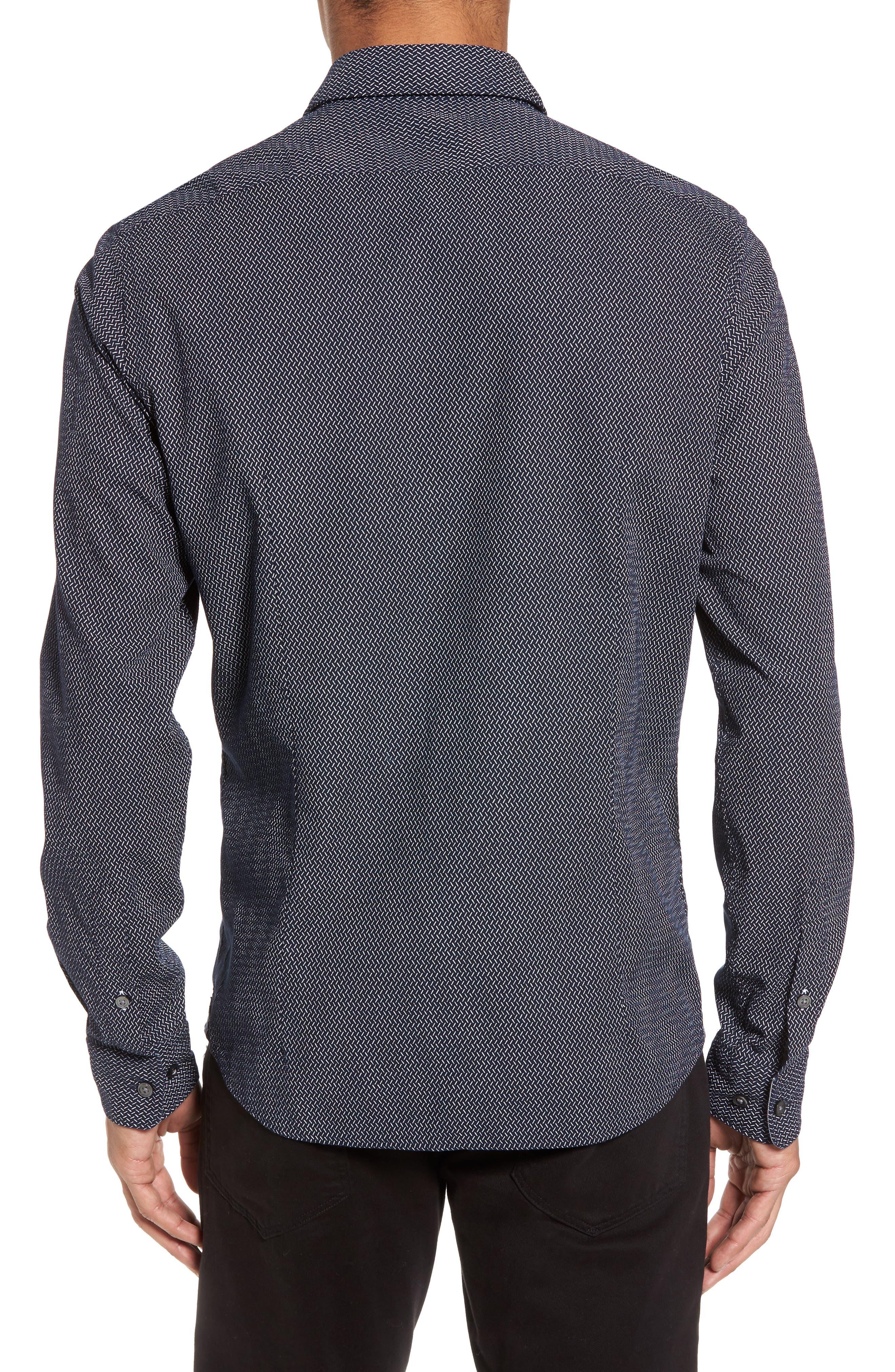 Lance Regular Fit Print Sport Shirt,                             Alternate thumbnail 2, color,                             410