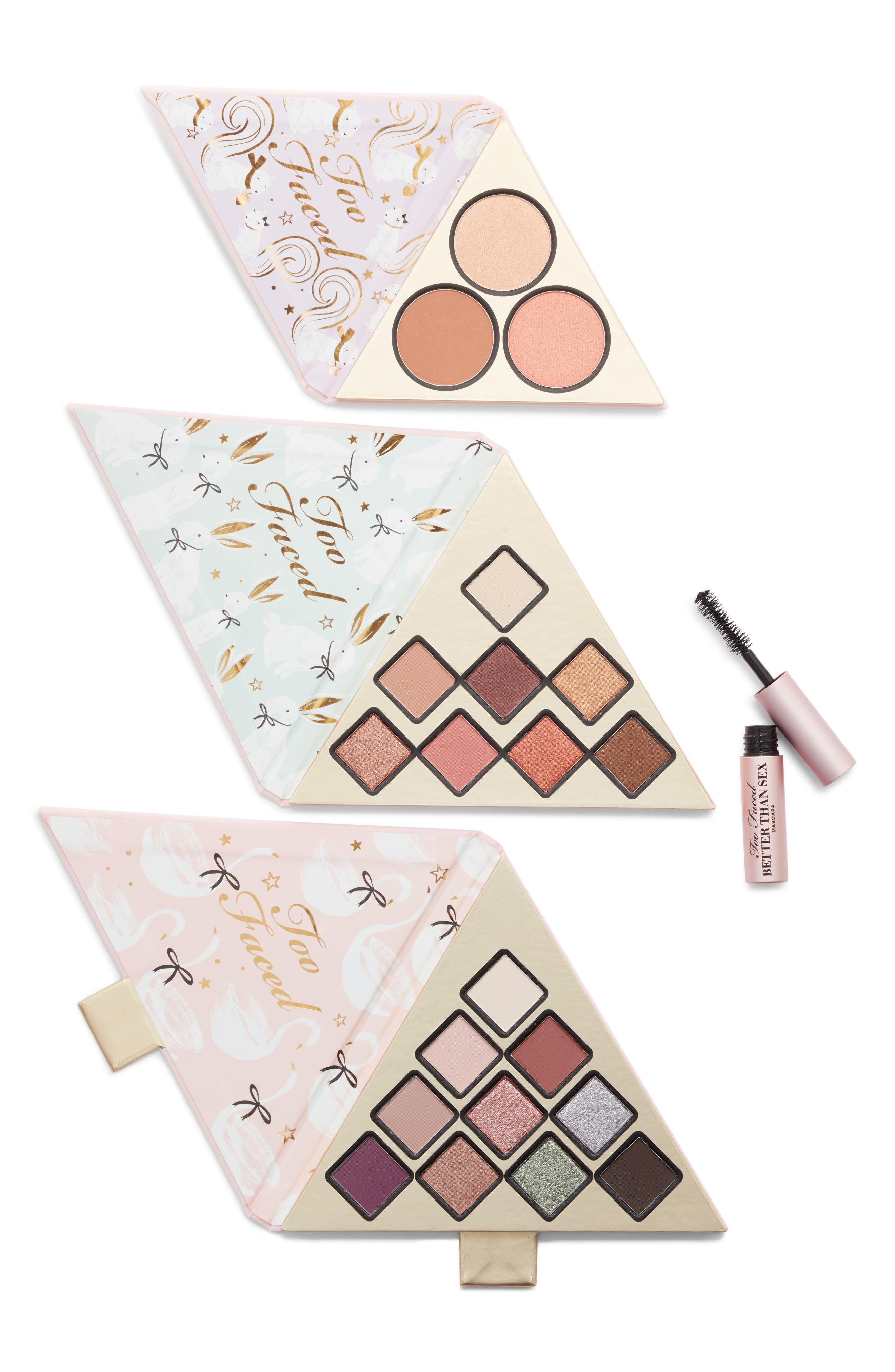 TOO FACED,                             Under The Christmas Tree Set,                             Main thumbnail 1, color,                             220