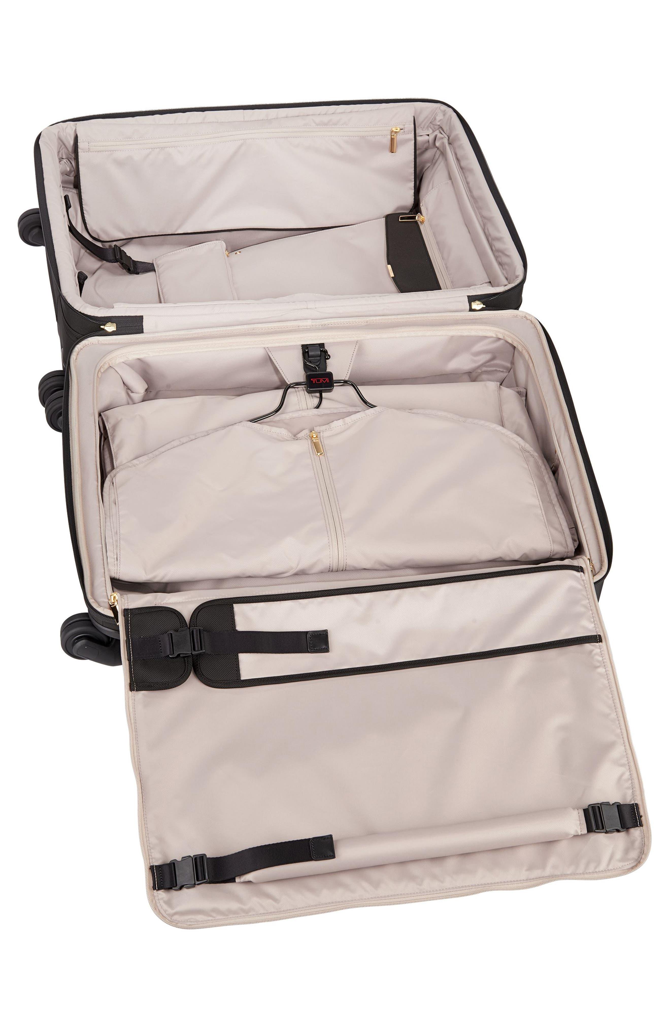 Larkin - Jess Short Trip 26-Inch Expandable 4-Wheel Suitcase,                             Alternate thumbnail 6, color,                             BLACK
