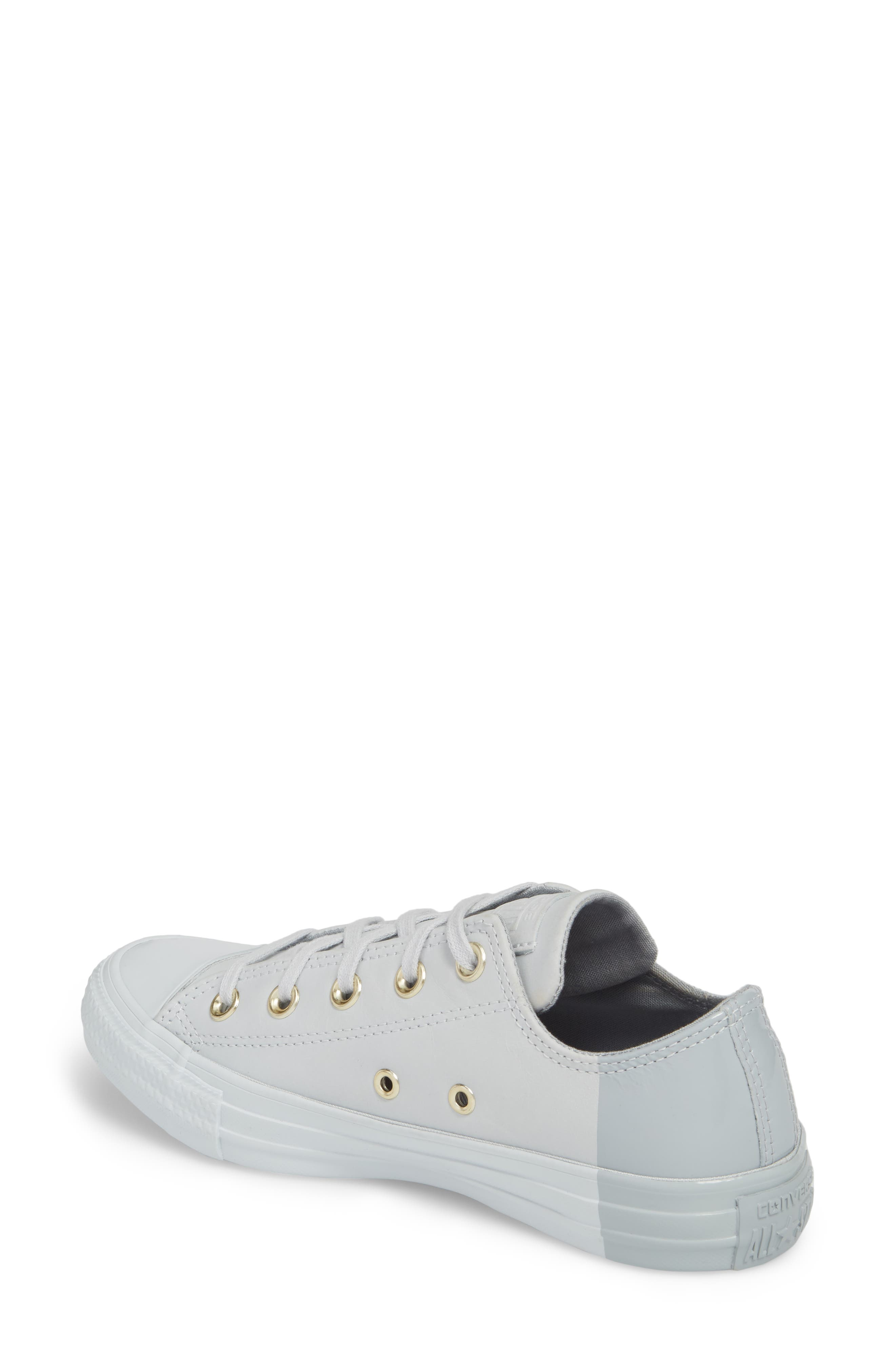 Chuck Taylor<sup>®</sup> All Star<sup>®</sup> Colorblock Ox Sneaker,                             Alternate thumbnail 2, color,                             082