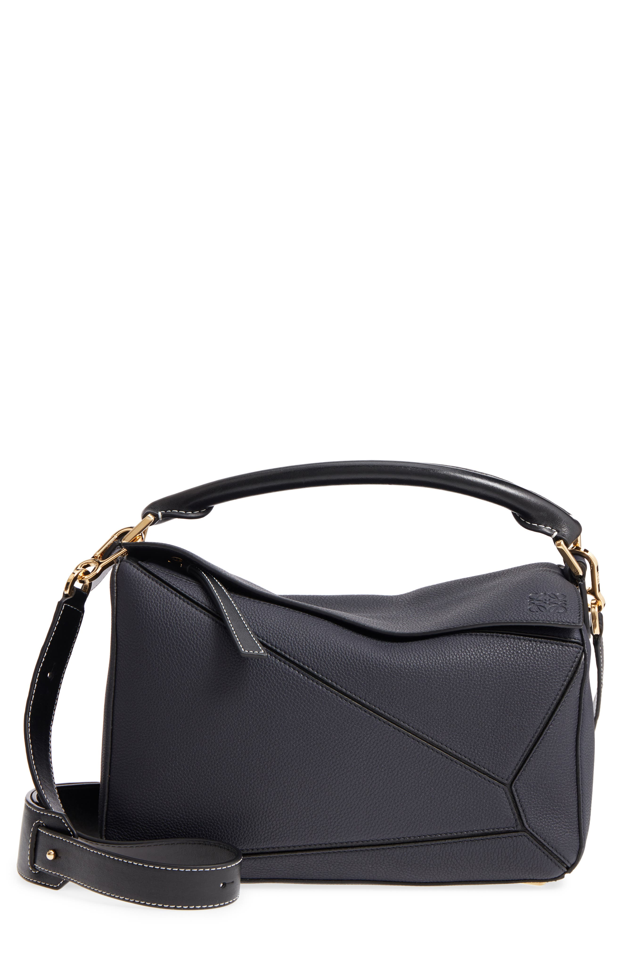 Medium Puzzle Leather Shoulder Bag,                         Main,                         color, 405