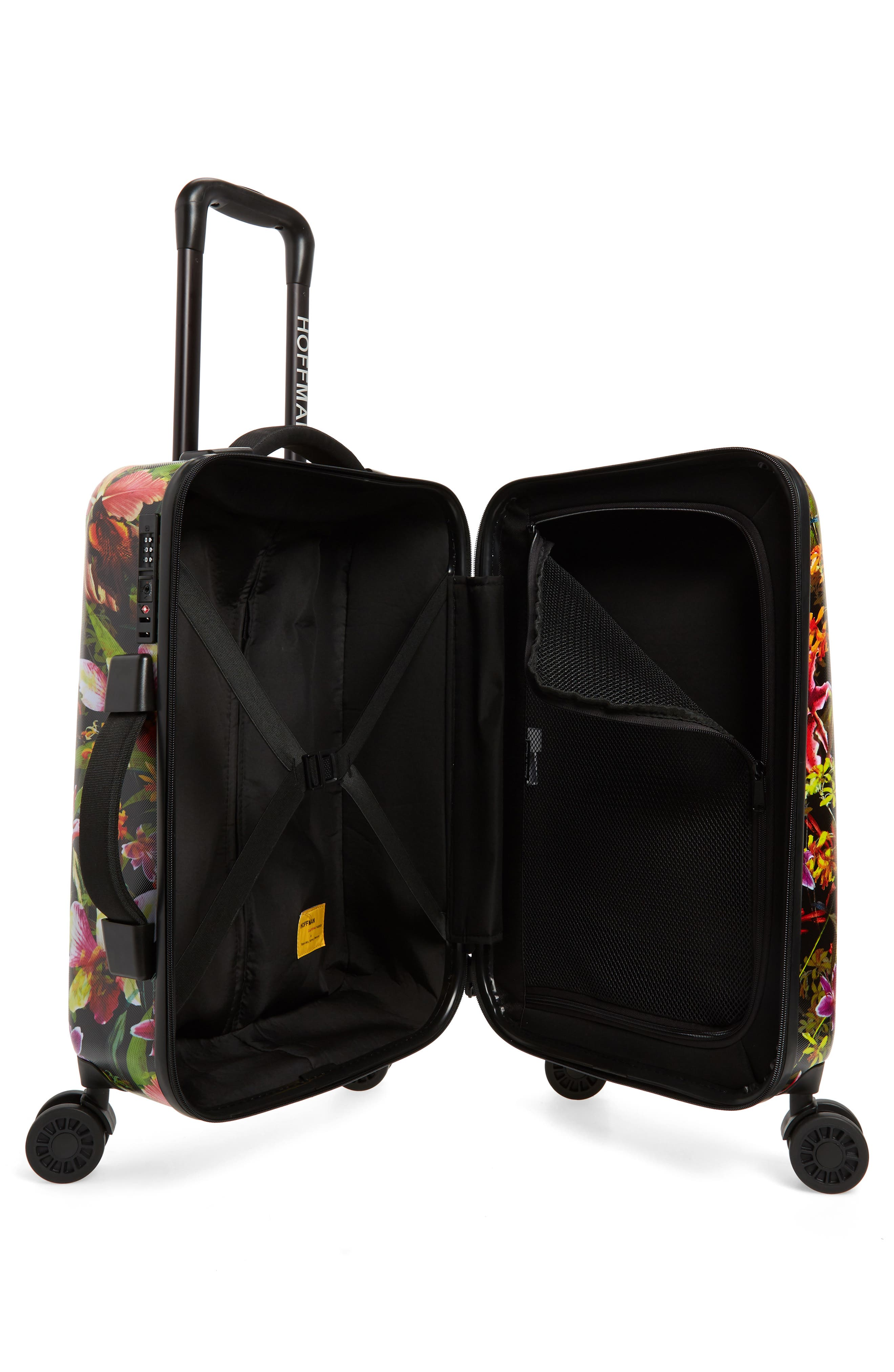 Small Trade 23-Inch Rolling Suitcase,                             Alternate thumbnail 2, color,                             JUNGLE HOFFMAN