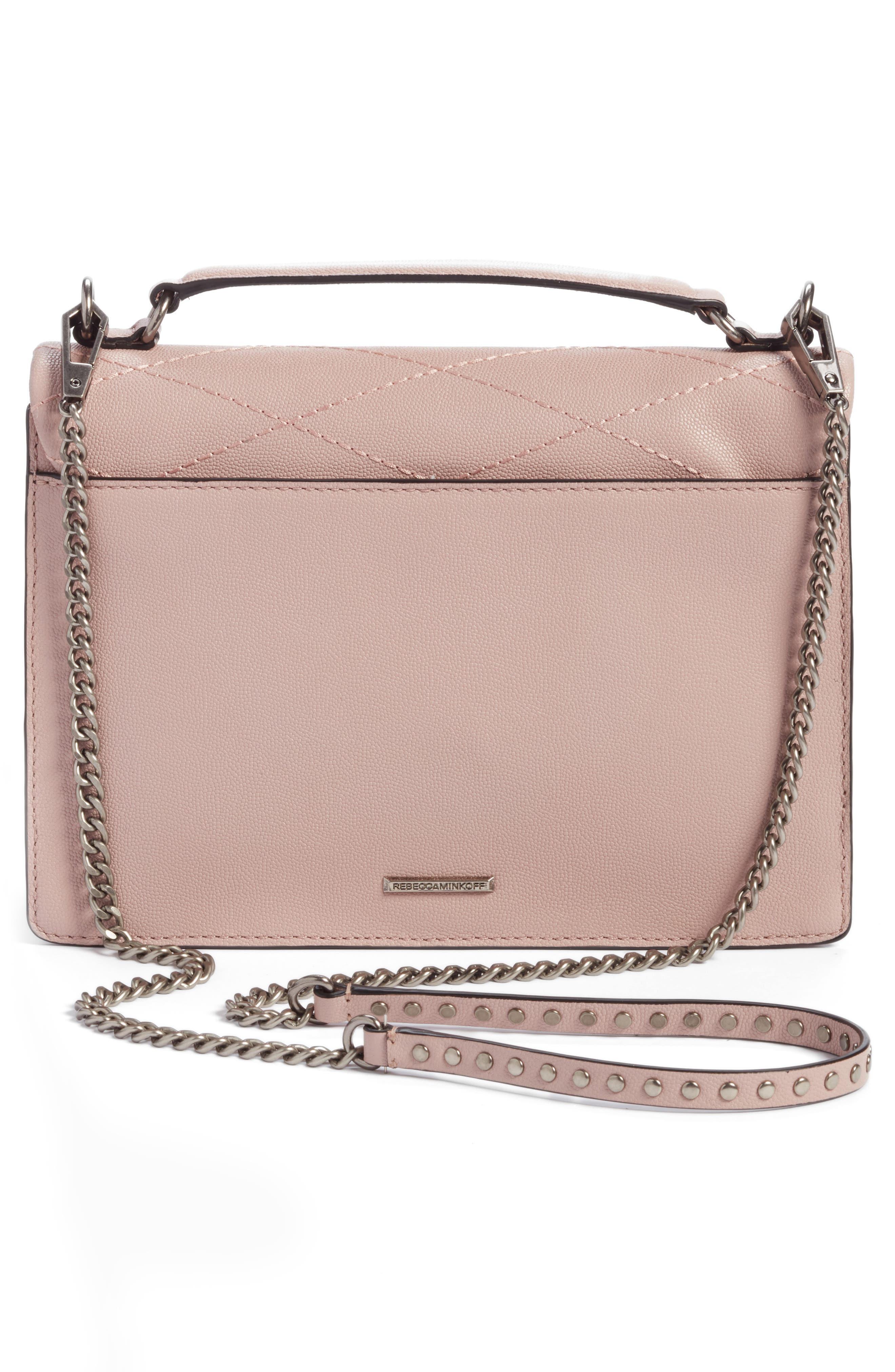 Medium Je T'aime Convertible Leather Crossbody Bag,                             Alternate thumbnail 28, color,