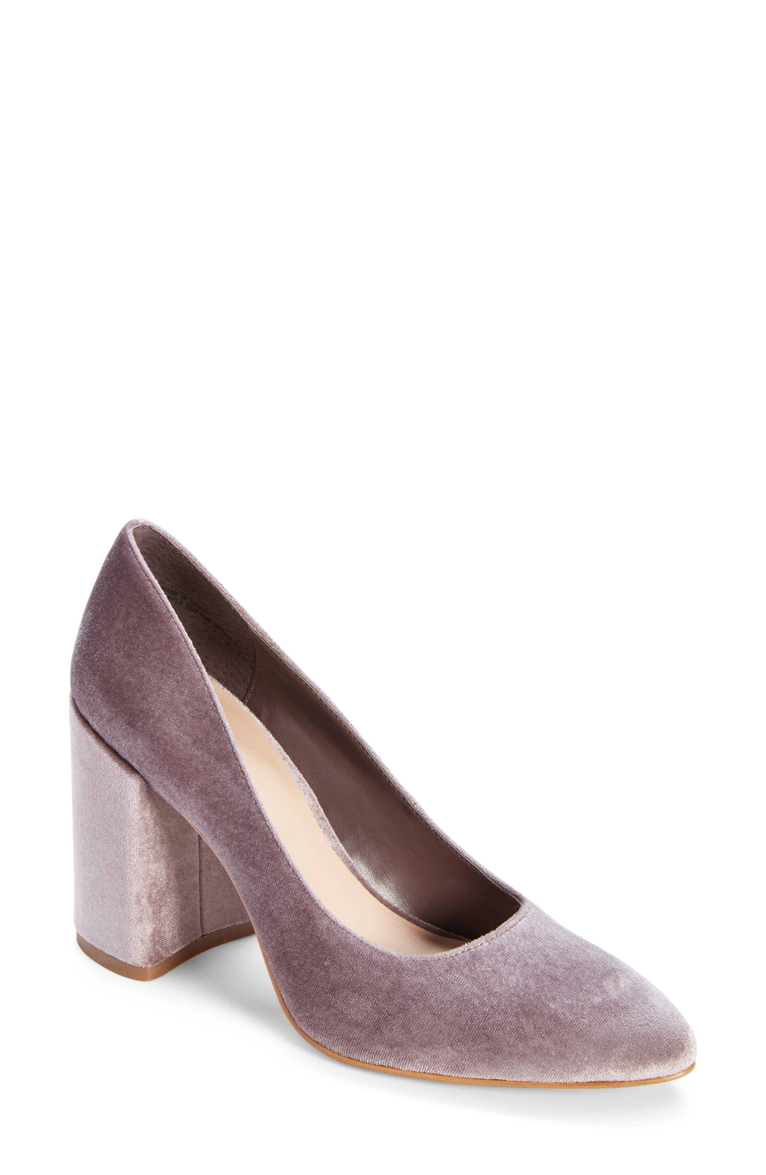 LEITH Nik Block Heel Pump, Main, color, 257