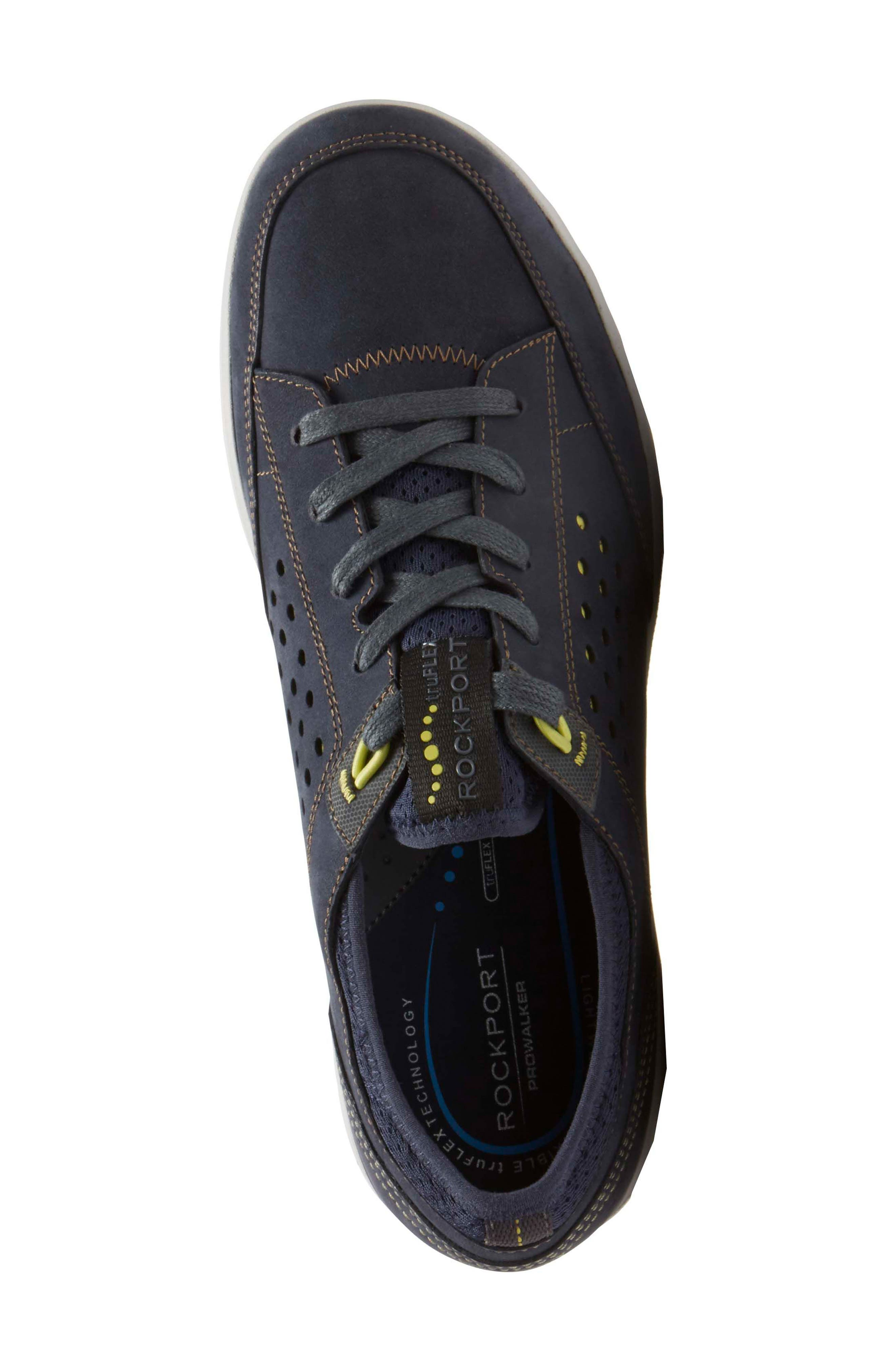 Truflex Sneaker,                             Alternate thumbnail 3, color,                             NEW DRESS BLUES NUBUCK