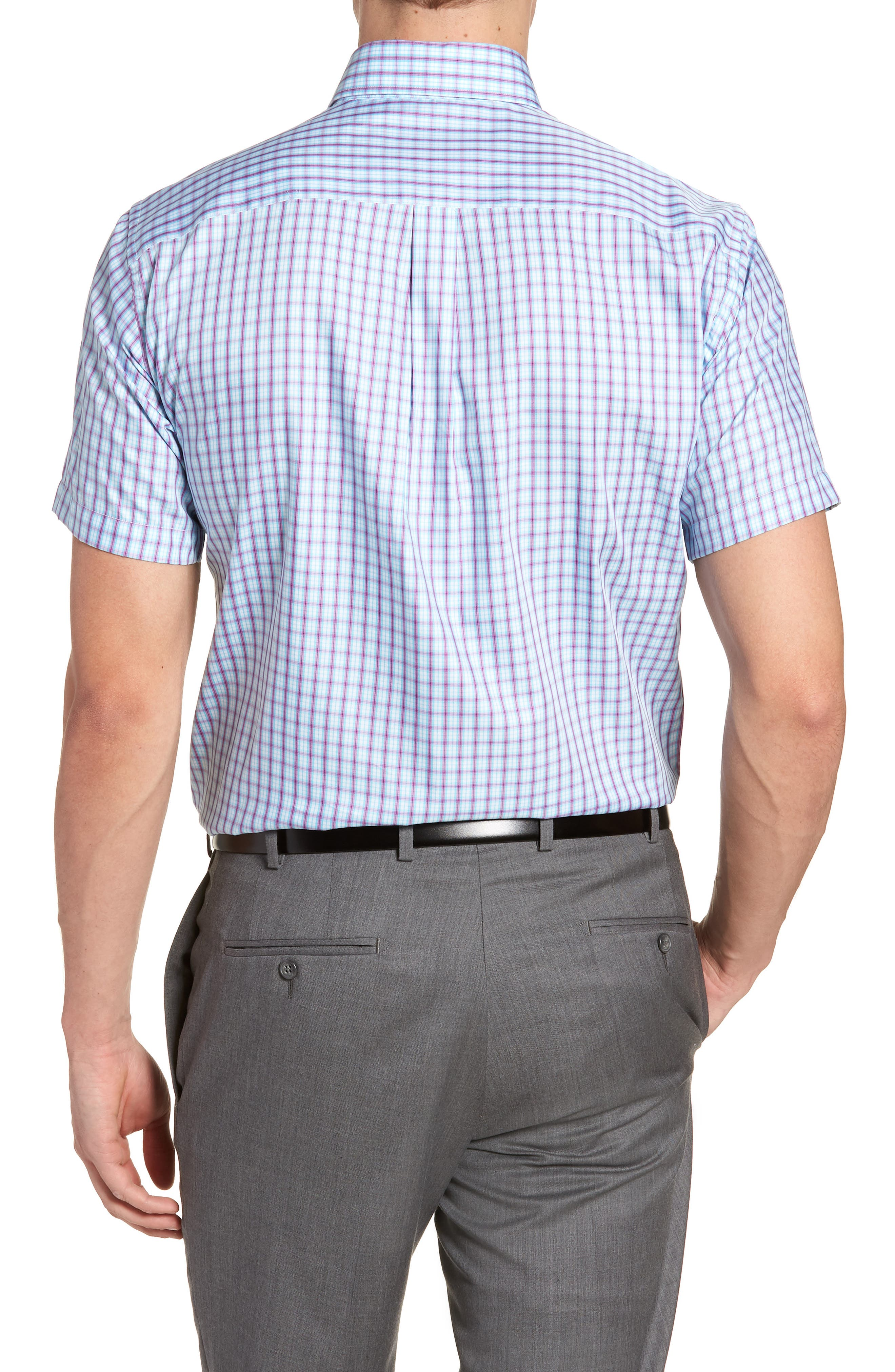 Crown Soft Carlsplaid Regular Fit Sport Shirt,                             Alternate thumbnail 2, color,                             URCHIN