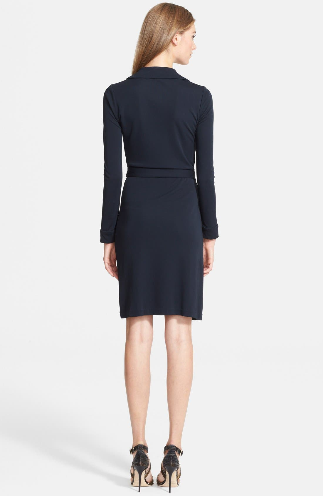 'New Jeanne Two' Jersey Wrap Dress,                             Alternate thumbnail 2, color,                             404