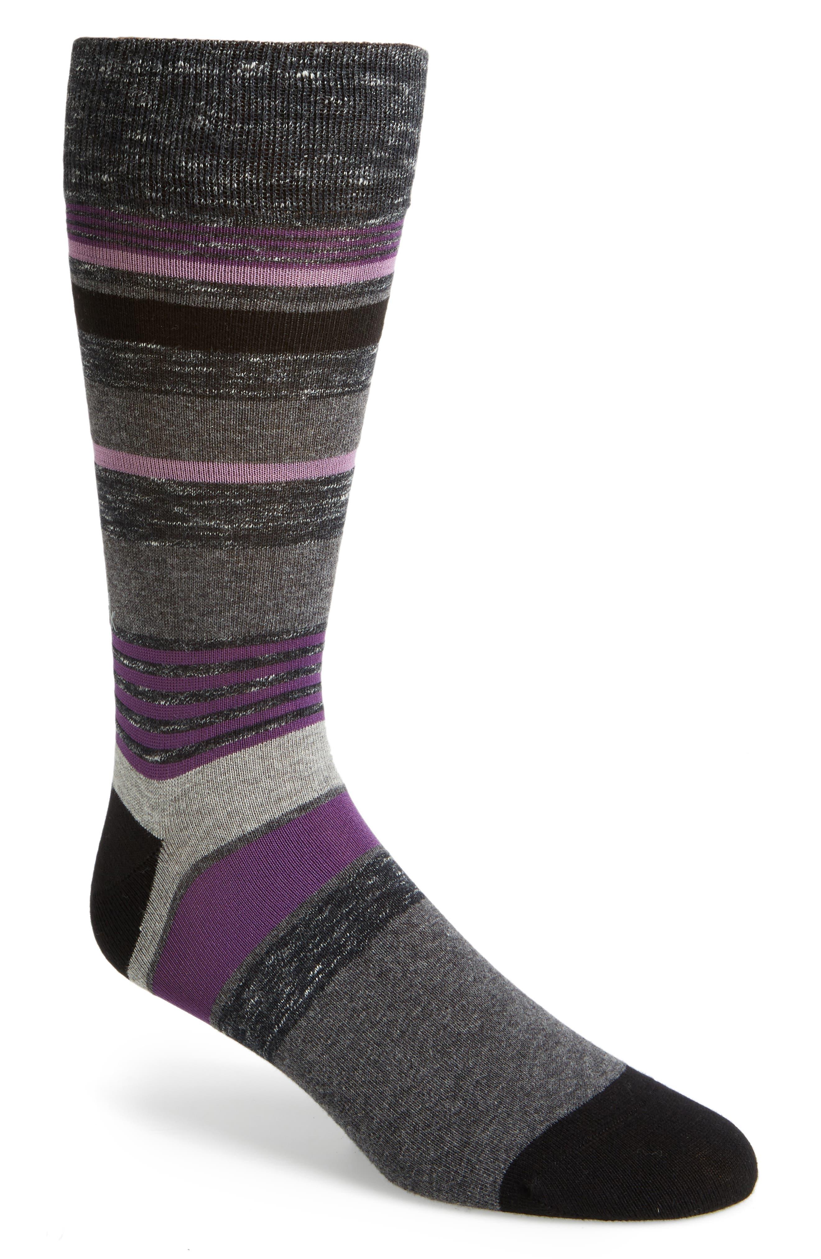Stripe Socks,                         Main,                         color, 007