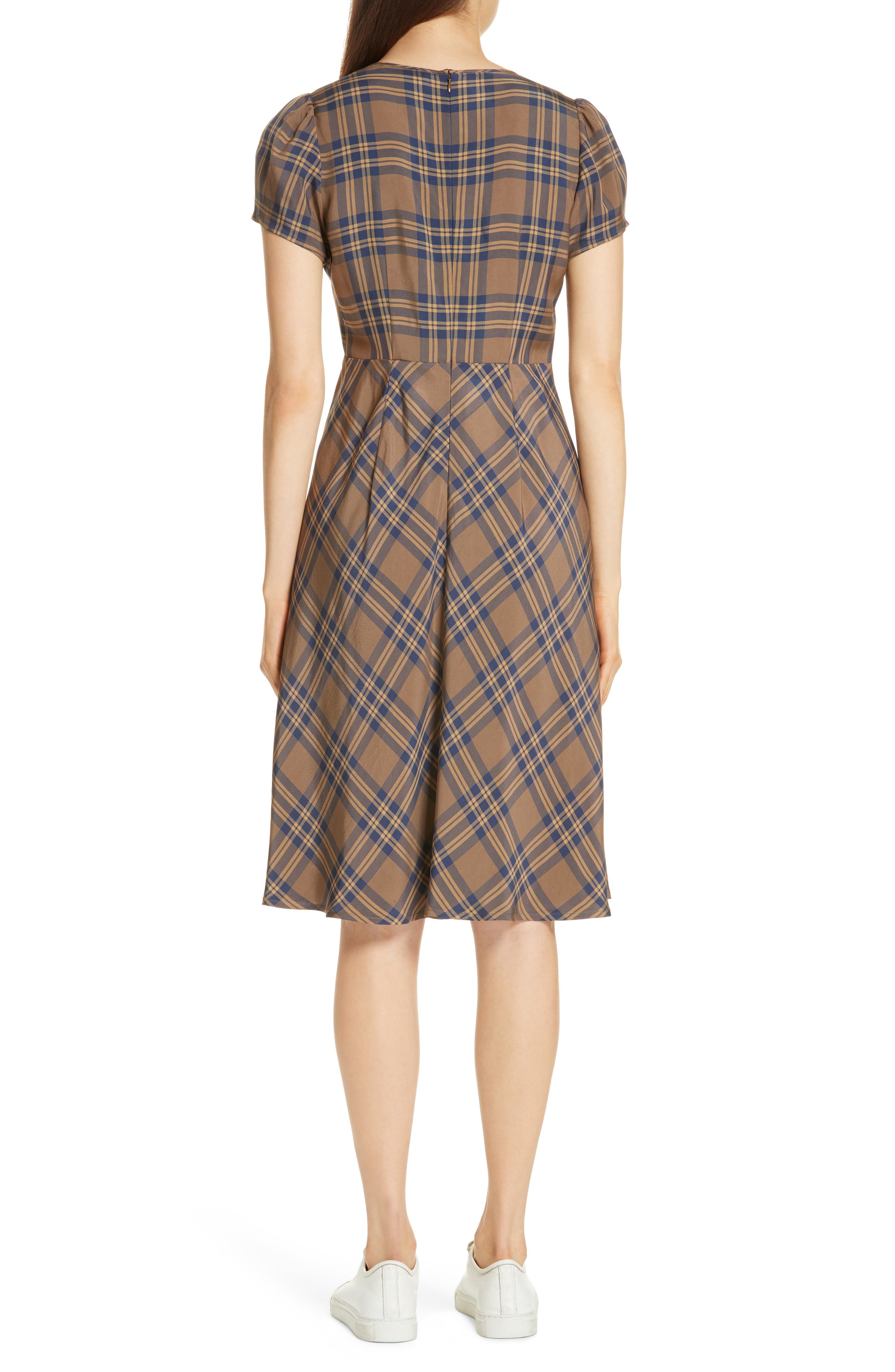 Check Dress,                             Alternate thumbnail 2, color,                             210