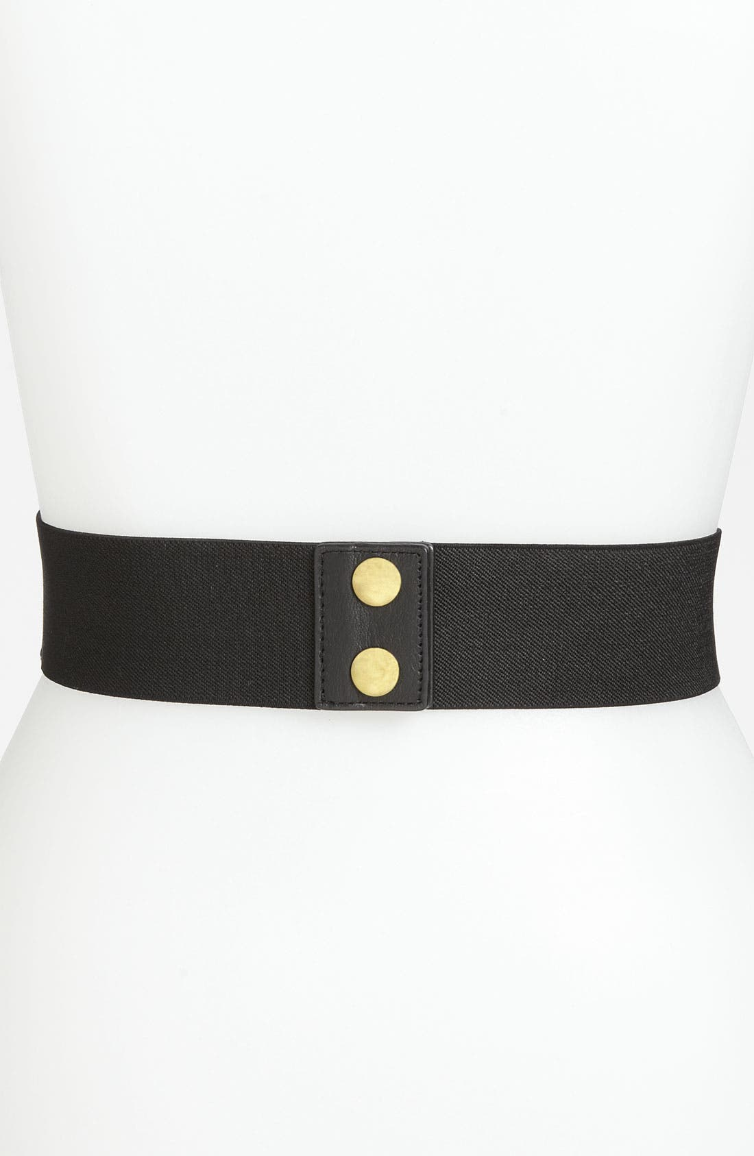 Woven Chain Stretch Belt,                             Alternate thumbnail 4, color,