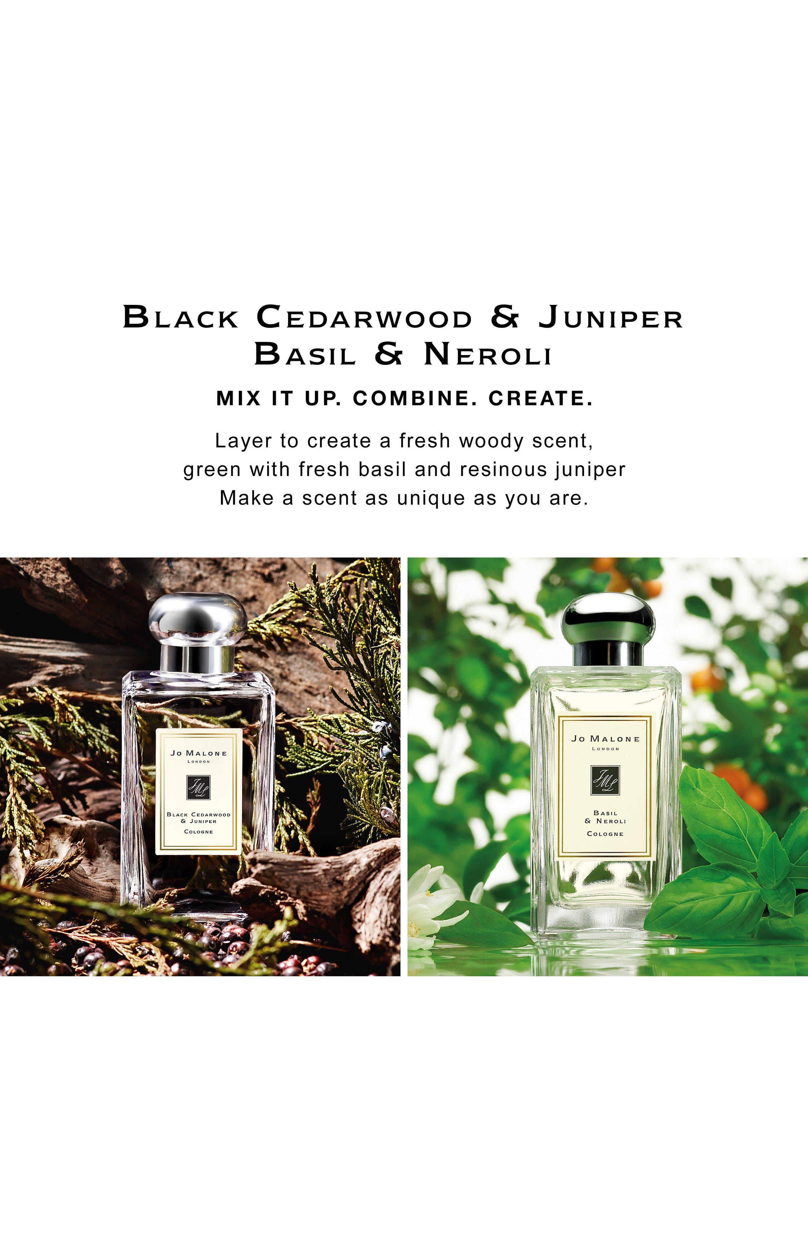Black Cedarwood & Juniper Cologne,                             Alternate thumbnail 3, color,                             NO COLOR