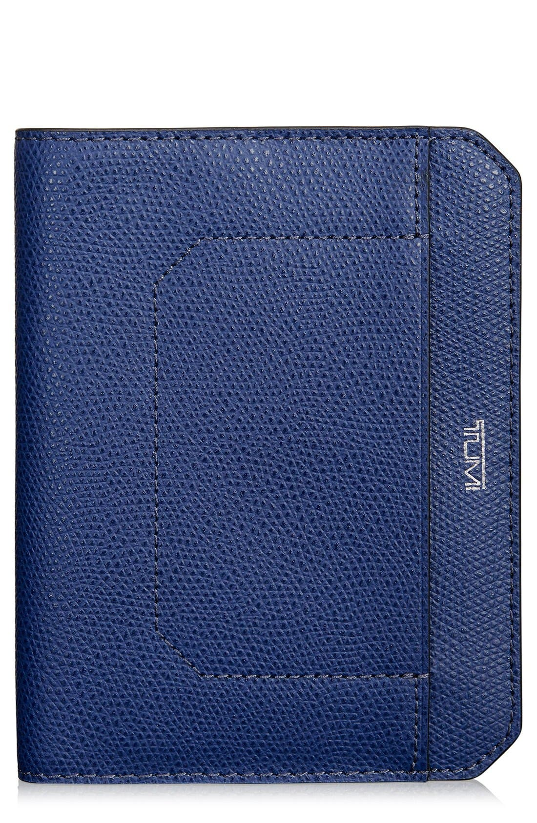Leather Passport Cover,                         Main,                         color, 400
