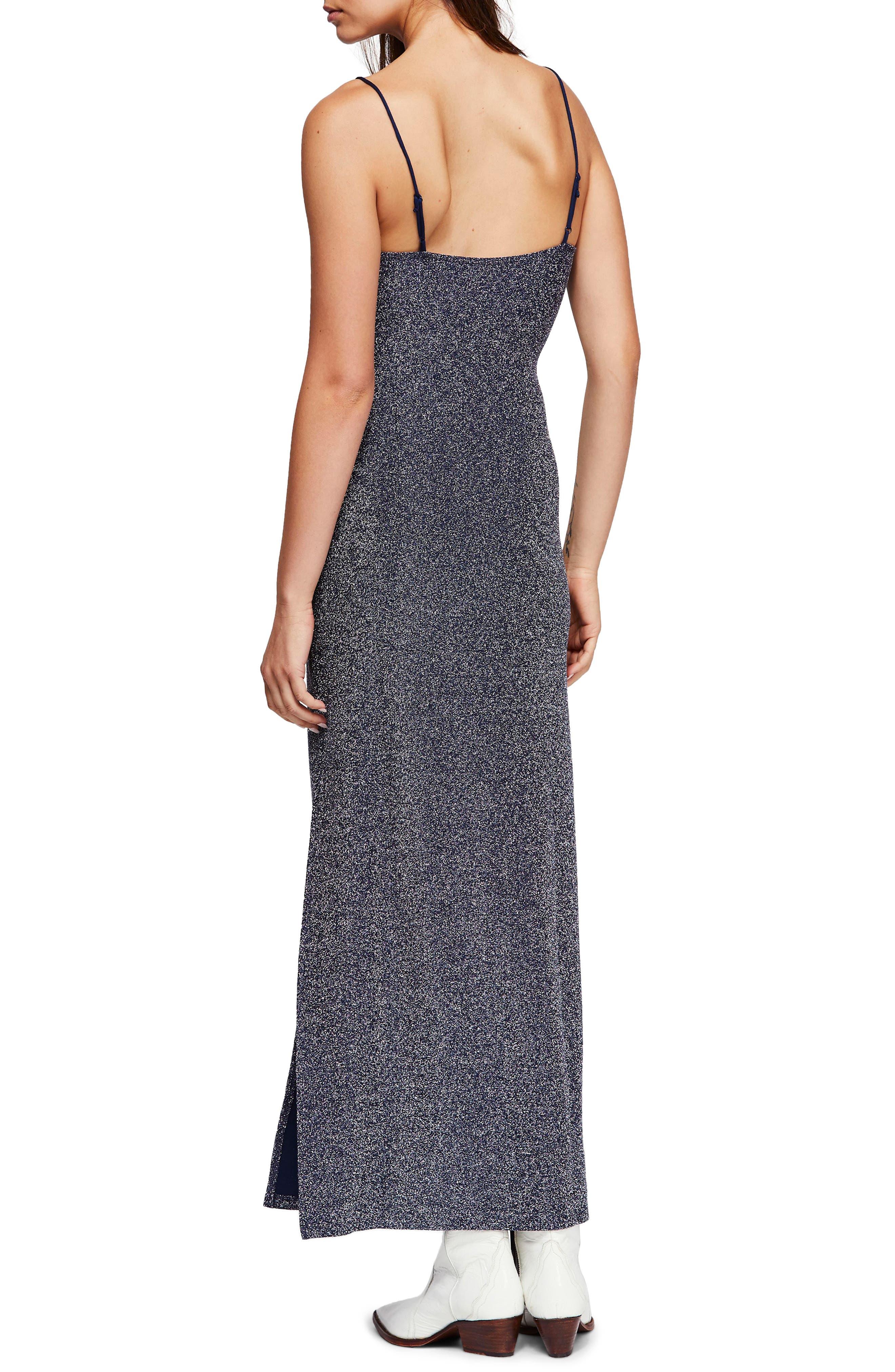 Lola Glitter Maxi Dress,                             Alternate thumbnail 2, color,                             020