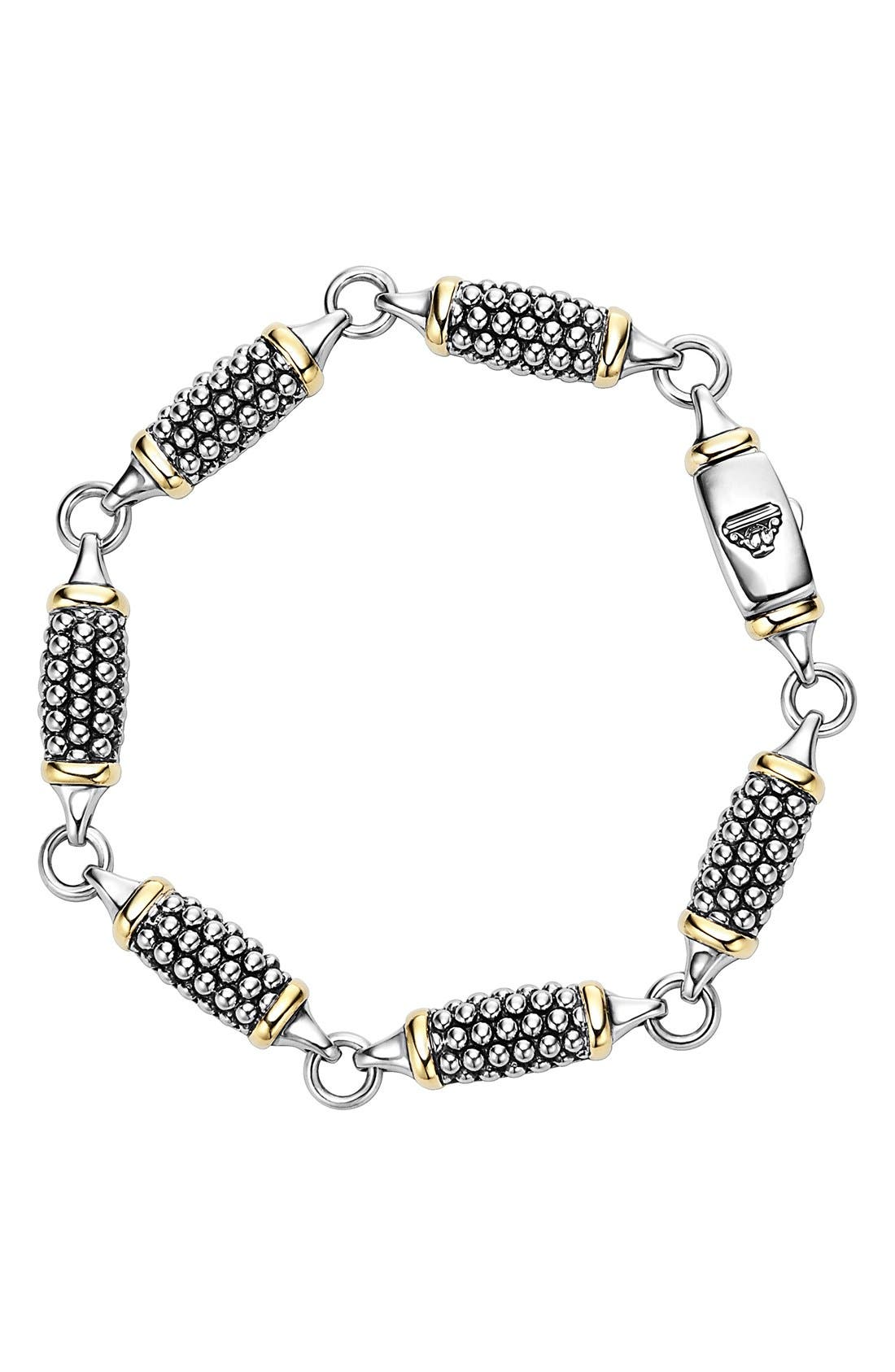 'Caviar Forever' Link Bracelet,                             Main thumbnail 1, color,