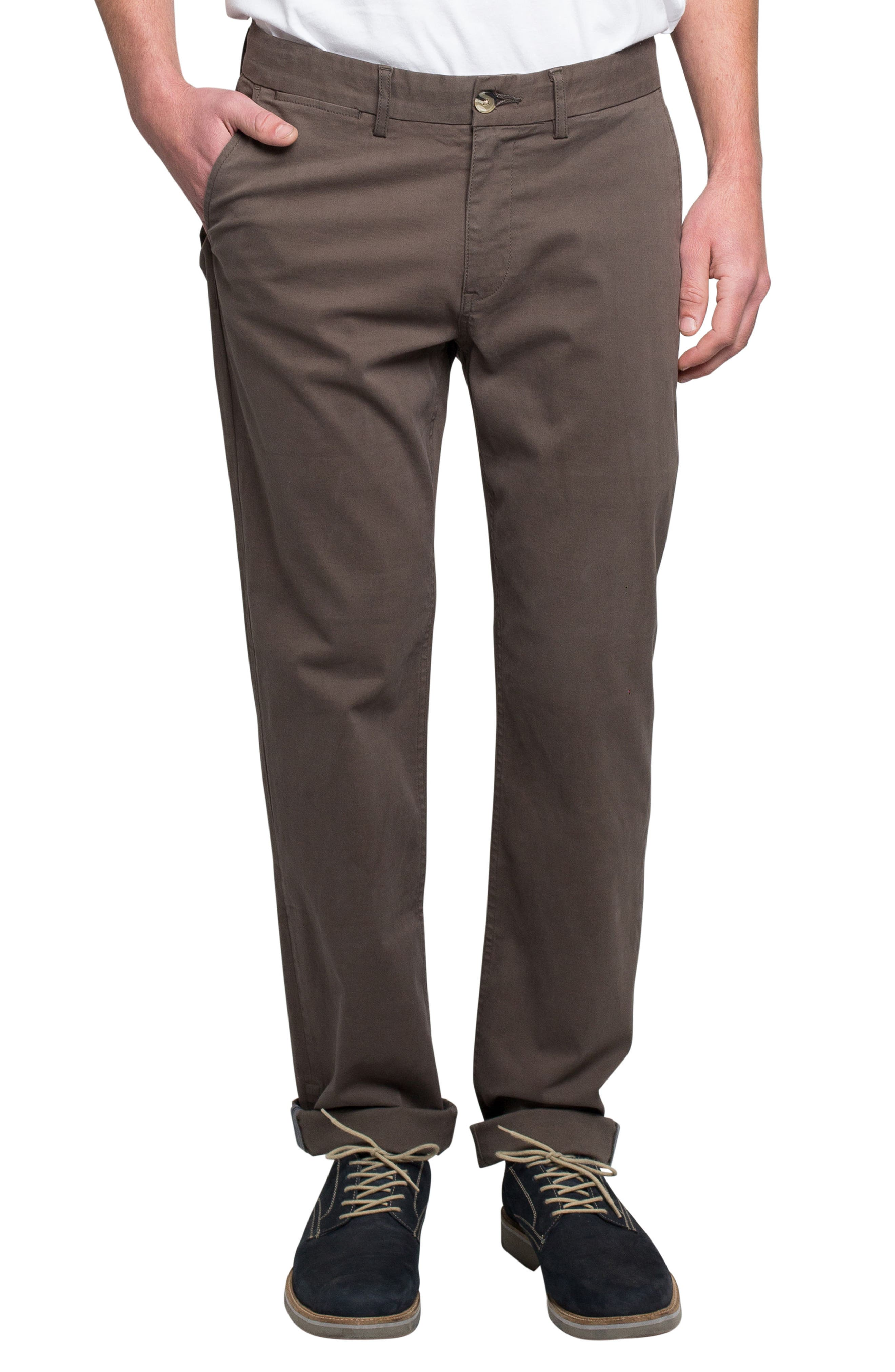 Slim Fit Stretch Chinos,                             Main thumbnail 8, color,