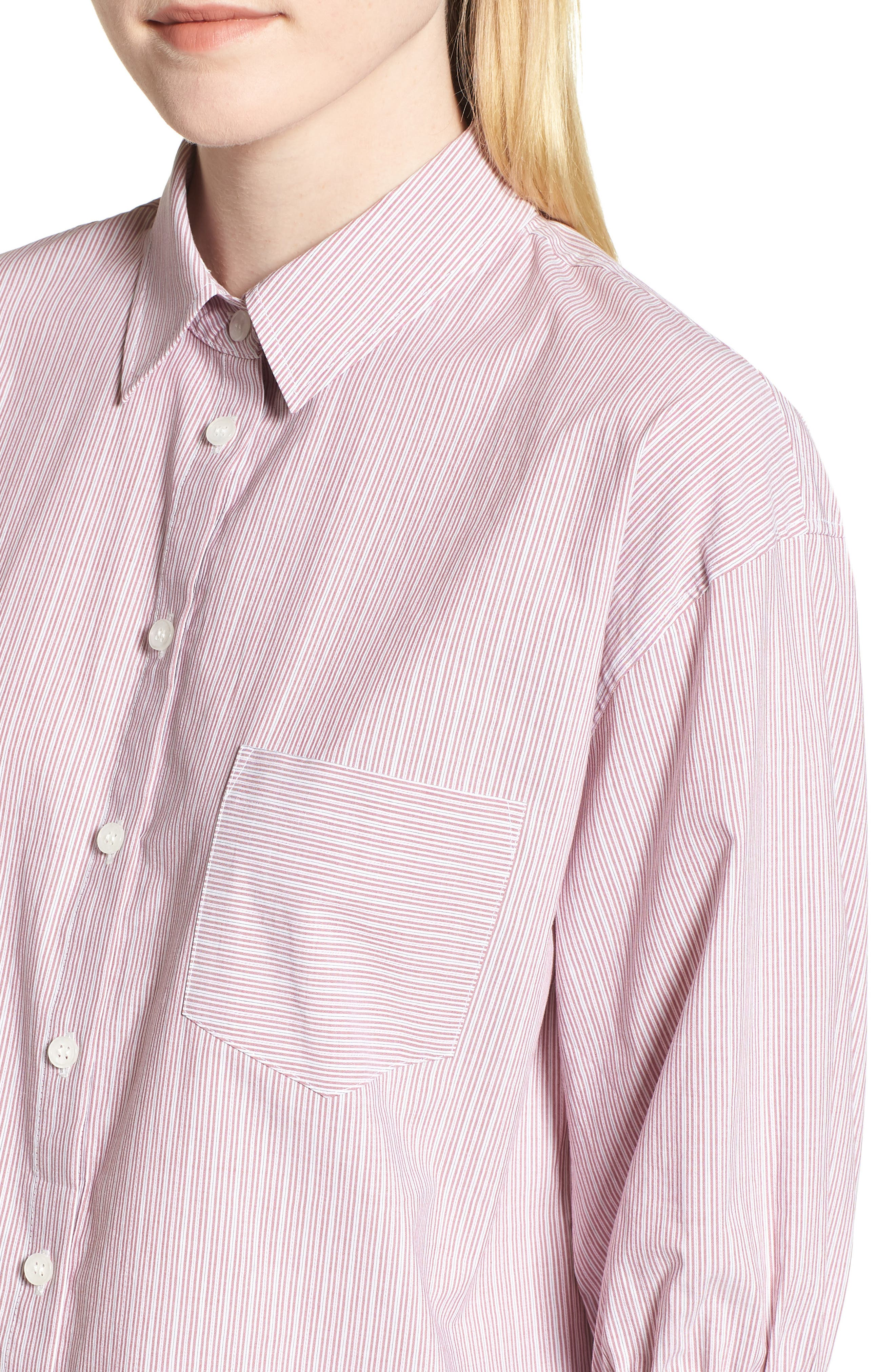 Stripe Shirt,                             Alternate thumbnail 4, color,                             938