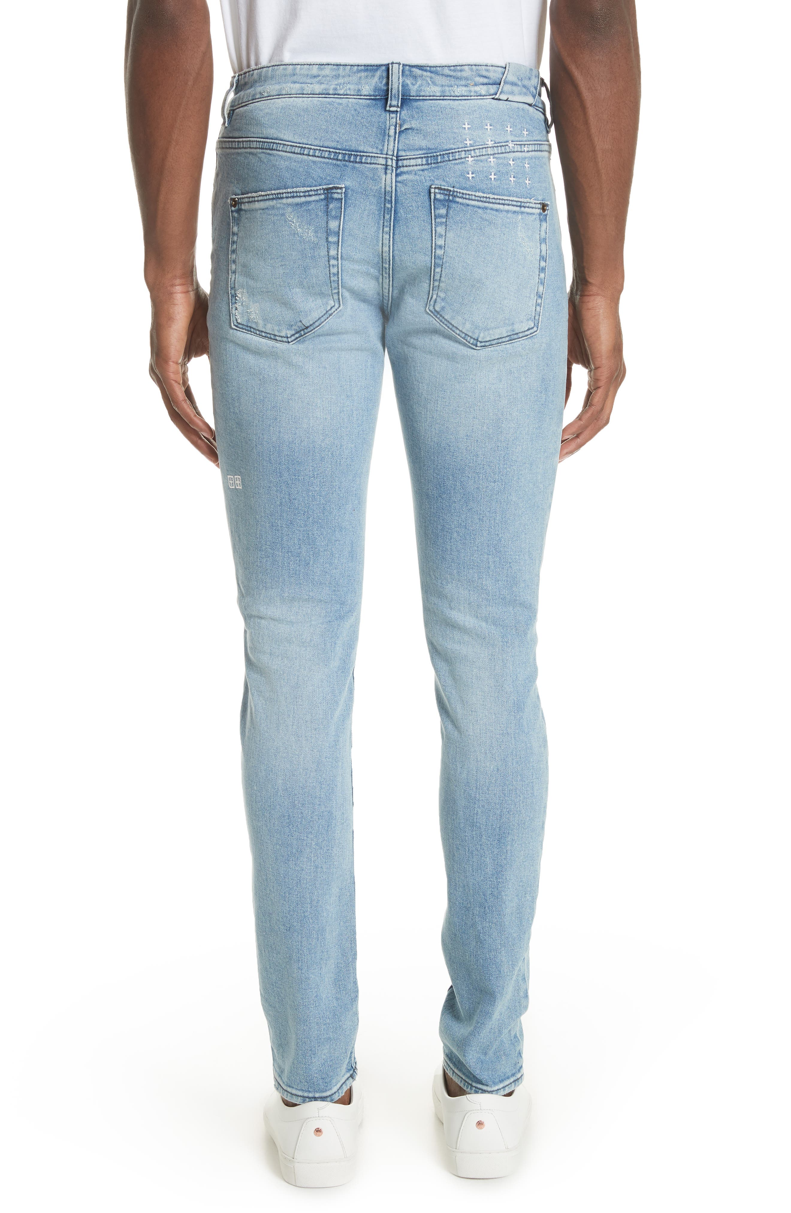Chitch Philly Jeans,                             Alternate thumbnail 3, color,                             BLUE