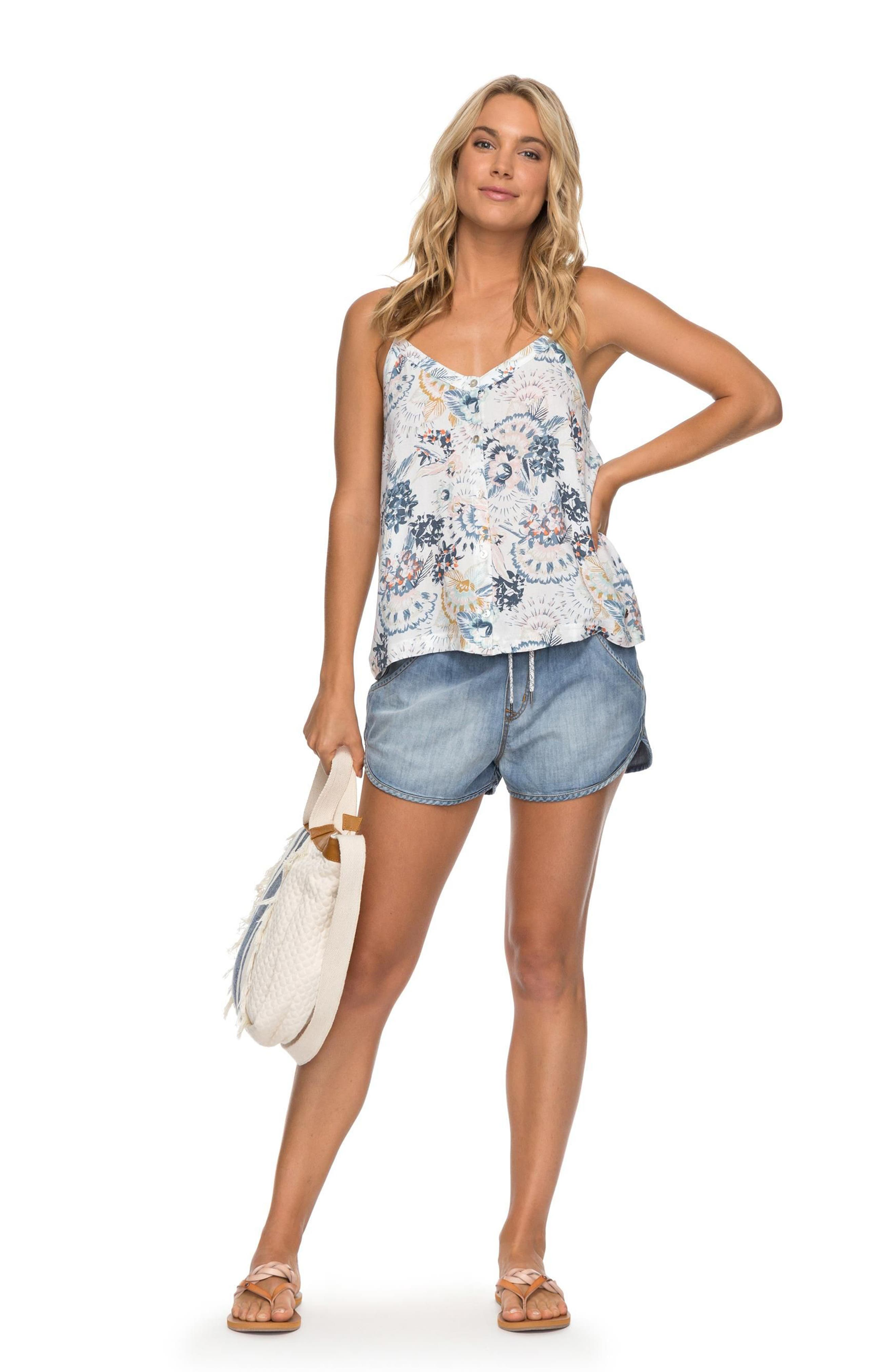 Fantasy Earth Flowy Camisole,                             Alternate thumbnail 4, color,                             101