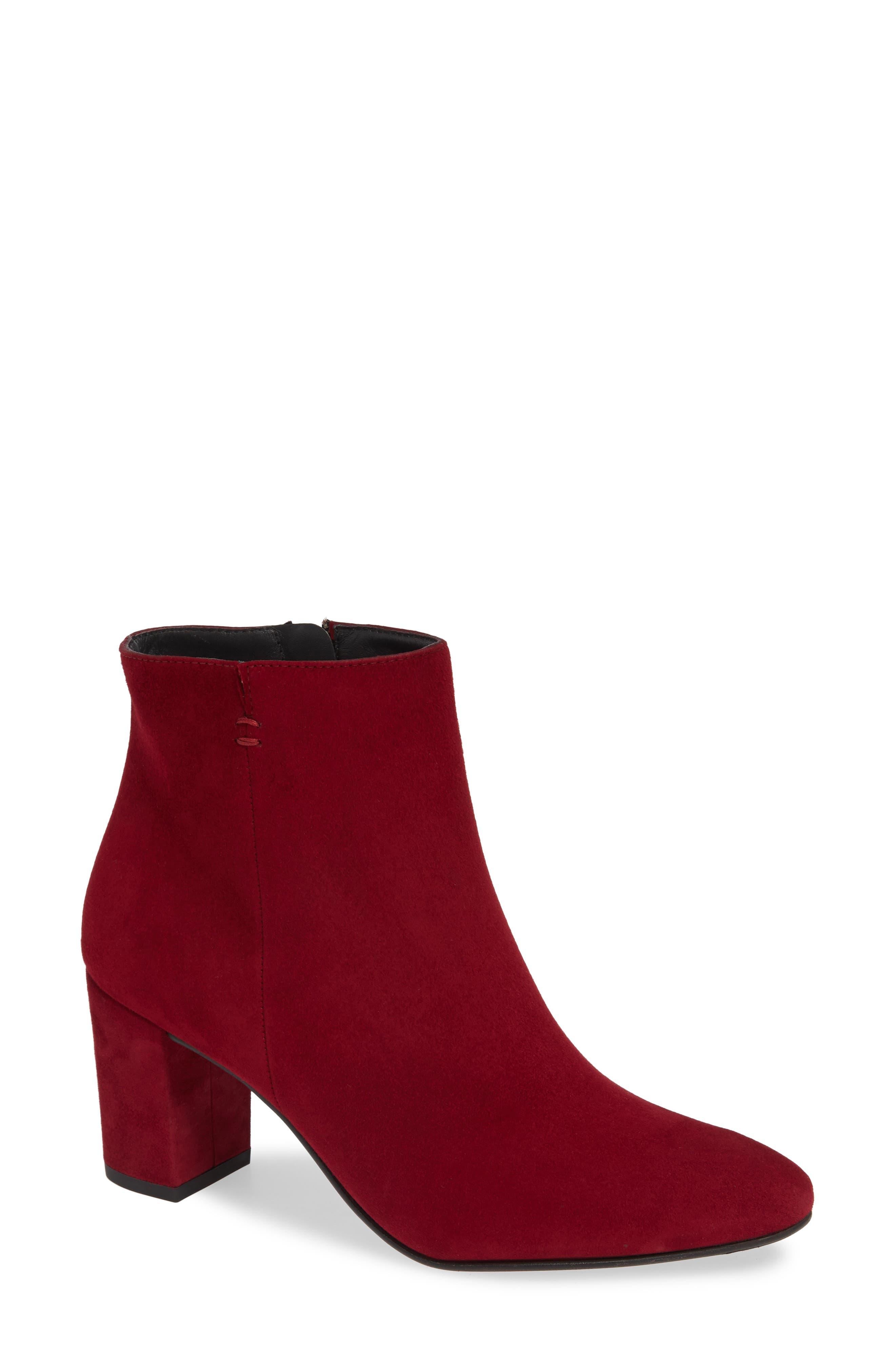 Paul Green Valerie Bootie, .5UK - Red