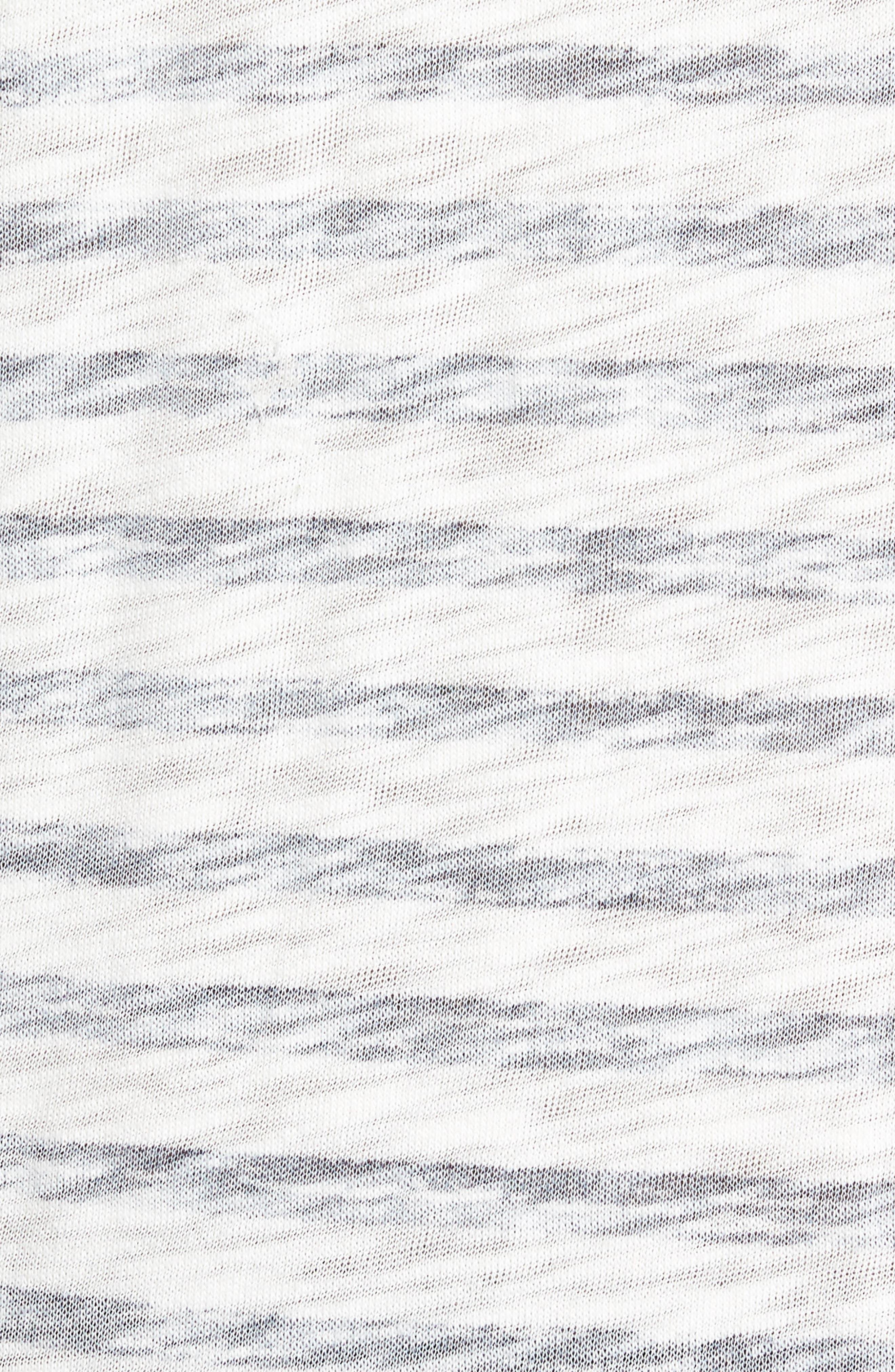 Stripe T-Shirt,                             Alternate thumbnail 5, color,                             115