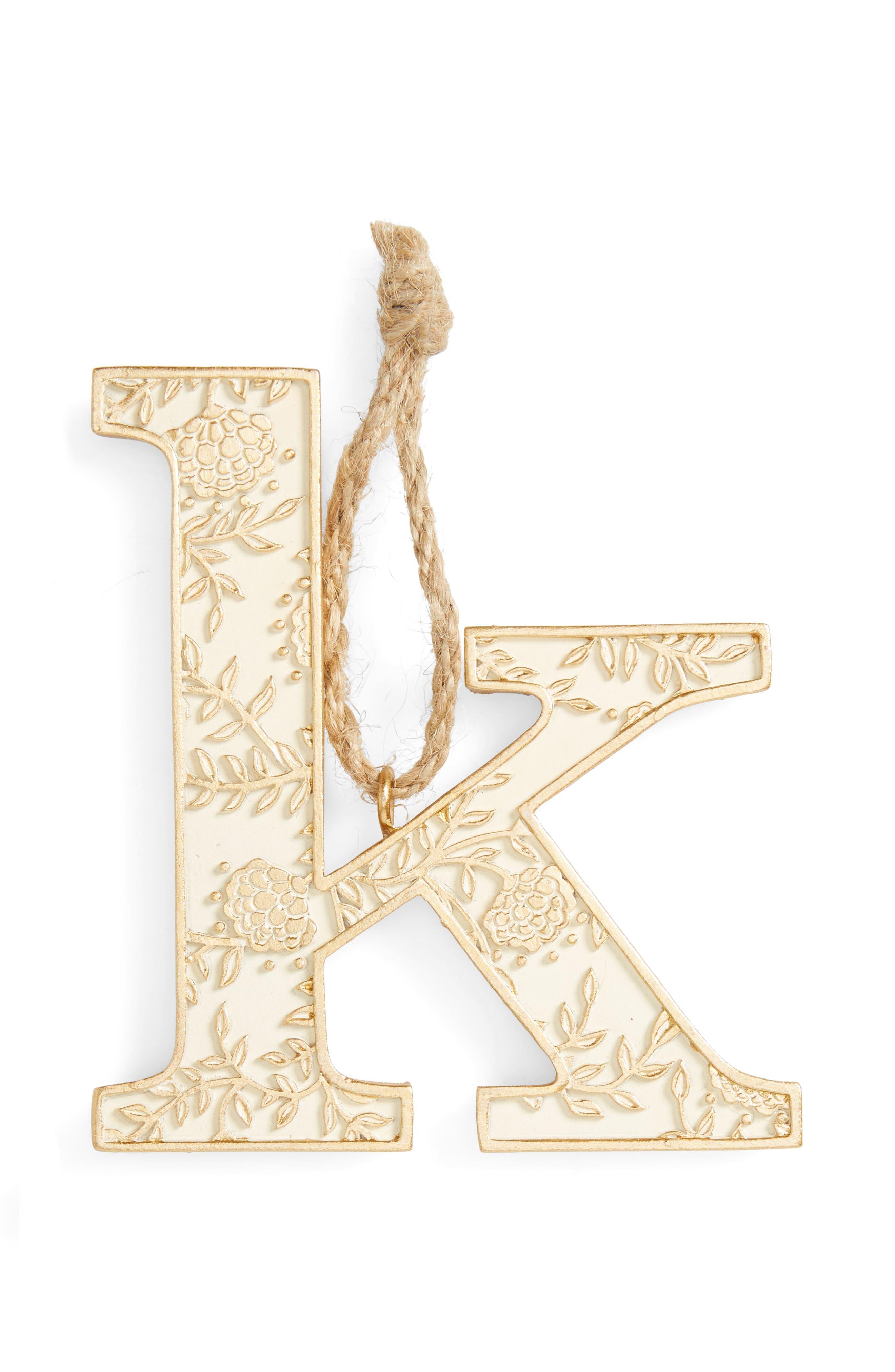 Letter Ornament,                             Main thumbnail 11, color,