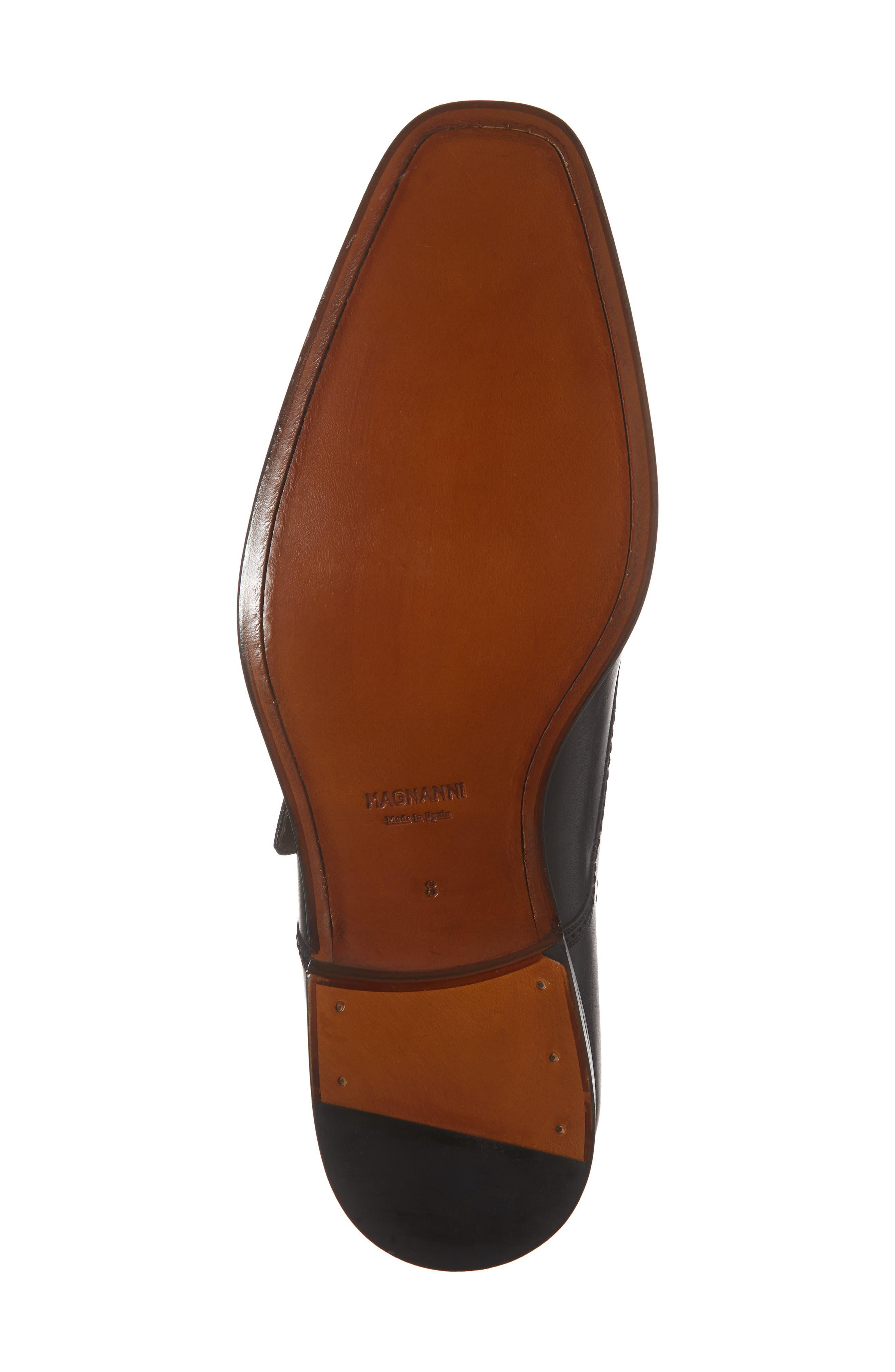 Lennon Monk Strap Shoe,                             Alternate thumbnail 6, color,                             001