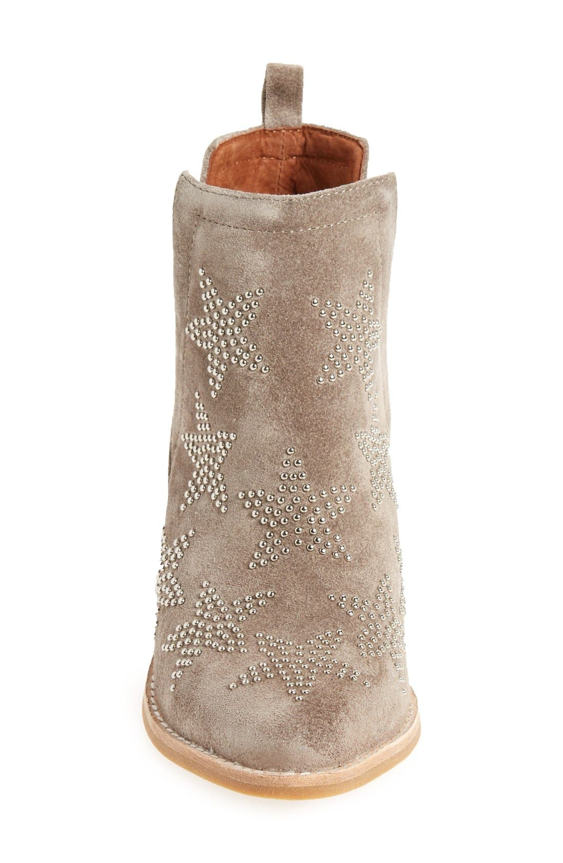 'Asterial' Star Studded Bootie,                             Alternate thumbnail 3, color,                             250