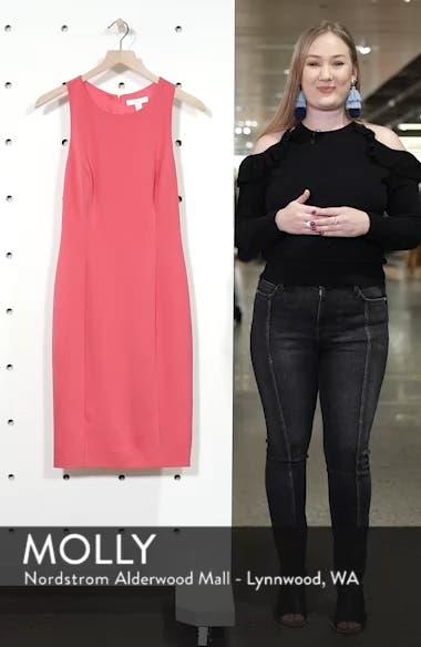 Bow Back Sheath Dress, sales video thumbnail