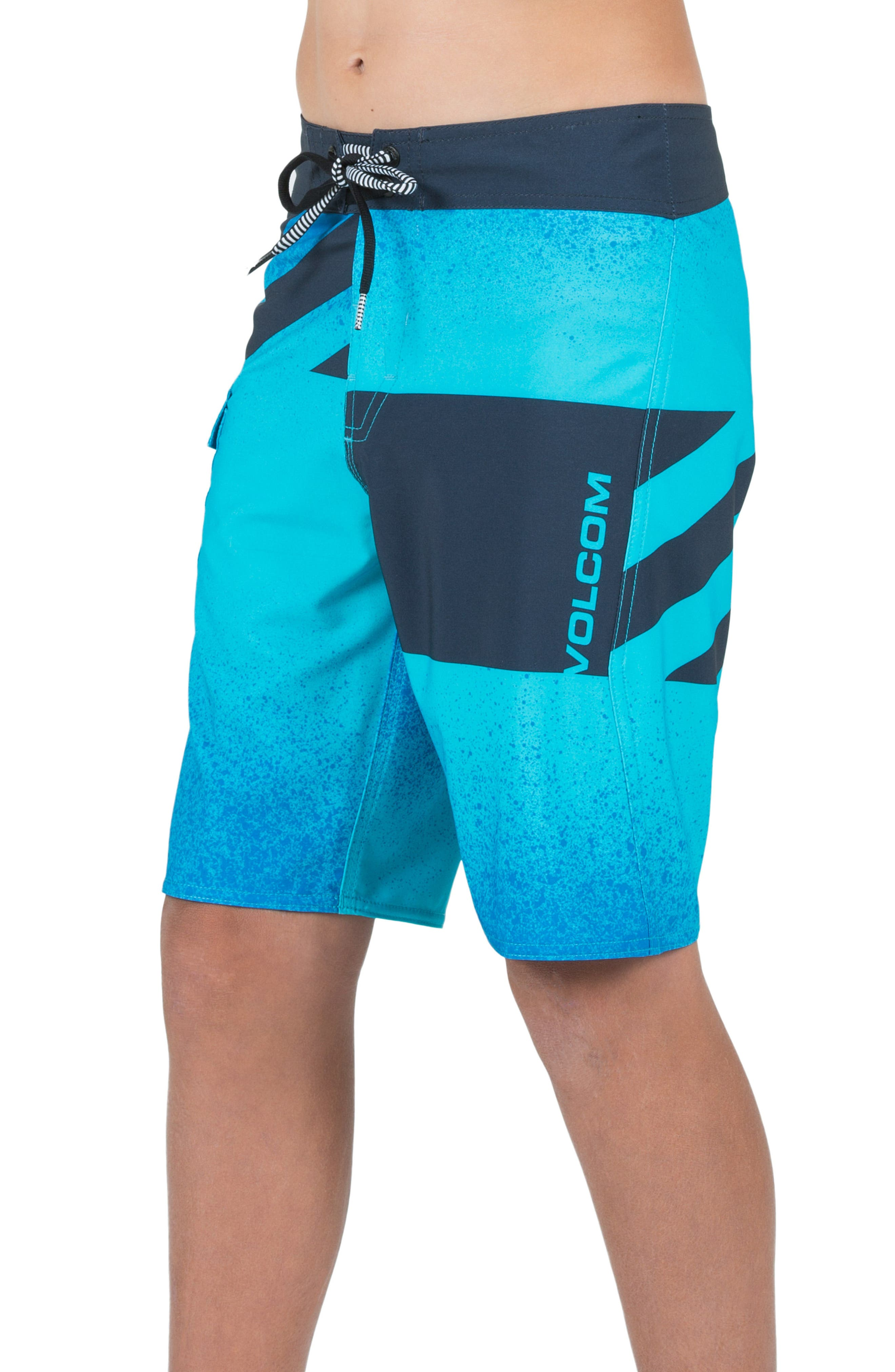 Logo Party Pack Mod Board Shorts,                             Alternate thumbnail 4, color,                             432