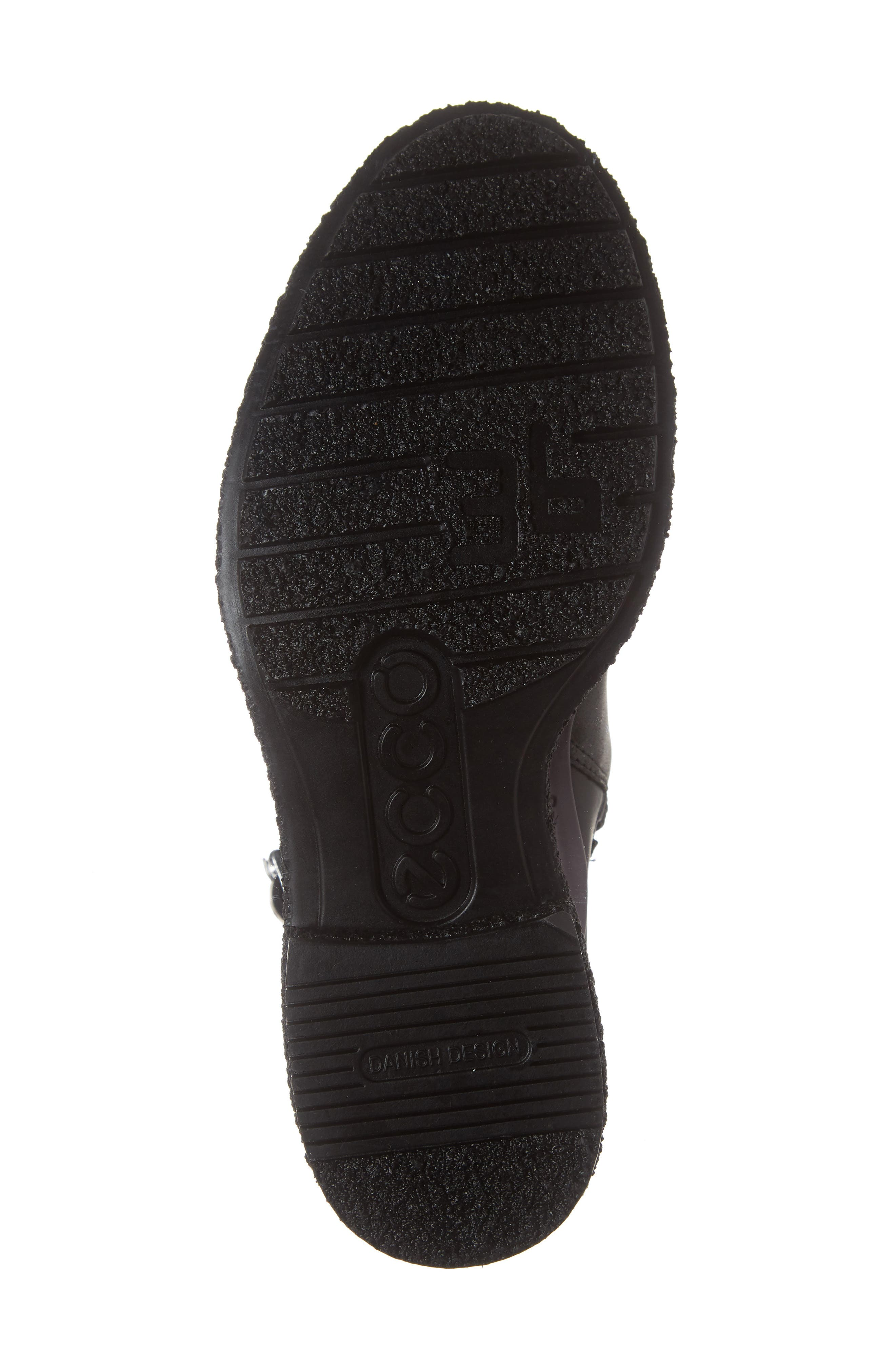 Crepetray GTX Waterproof Bootie,                             Alternate thumbnail 6, color,                             BLACK LEATHER