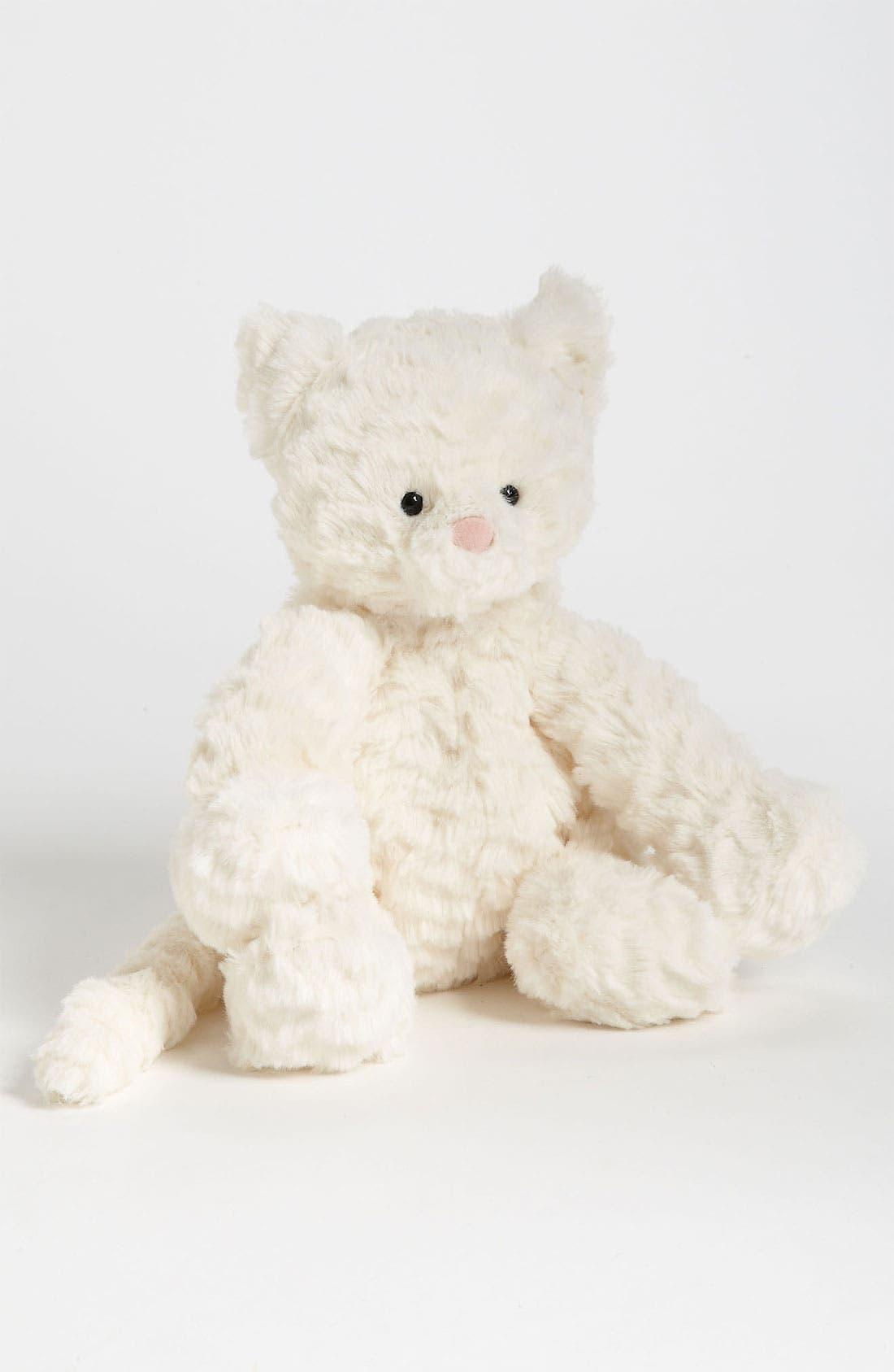 Fuddlewuddle Kitty Stuffed Animal,                             Main thumbnail 1, color,                             WHITE