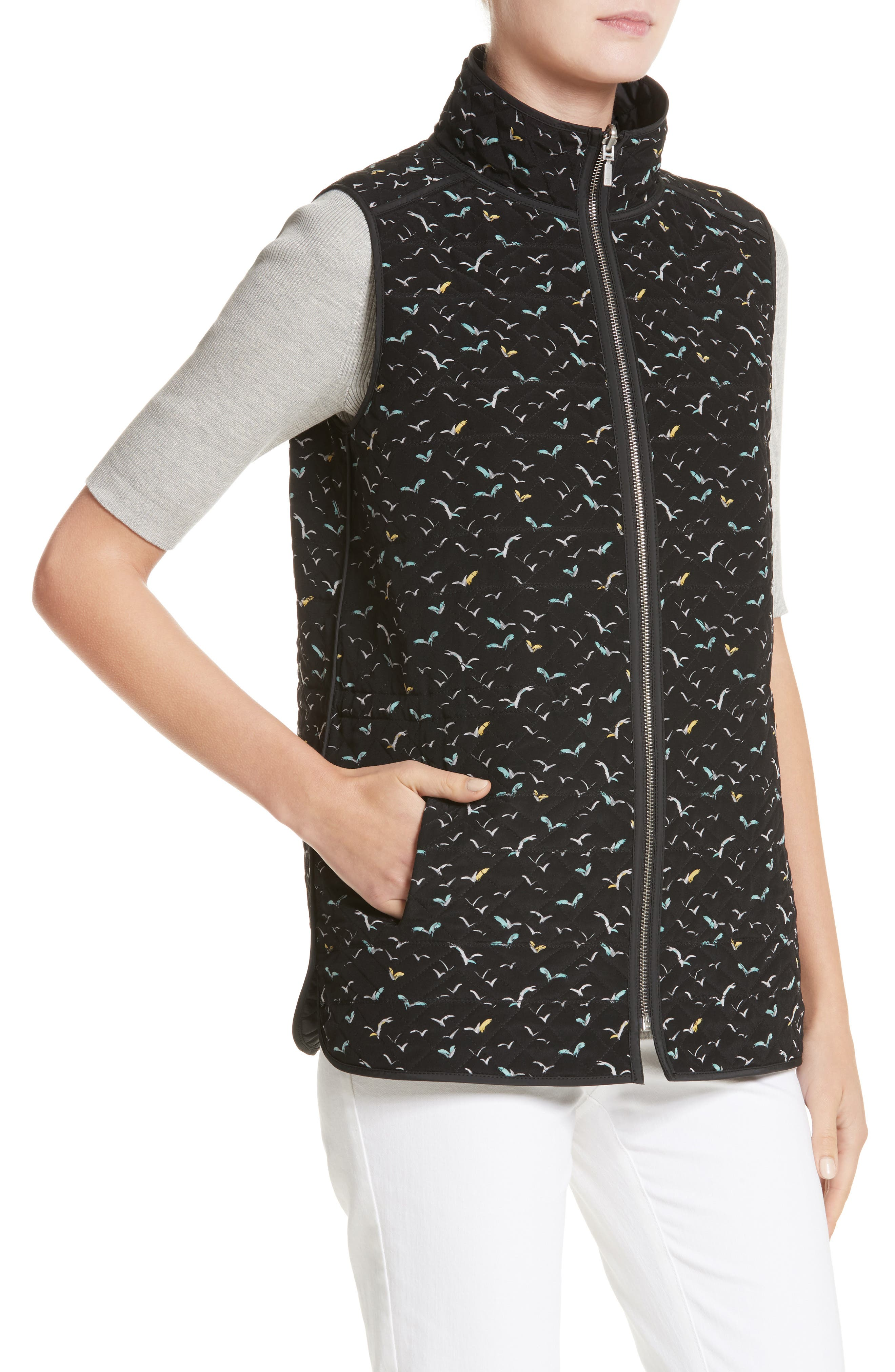 Ginny Reversible Vest,                             Alternate thumbnail 2, color,                             001
