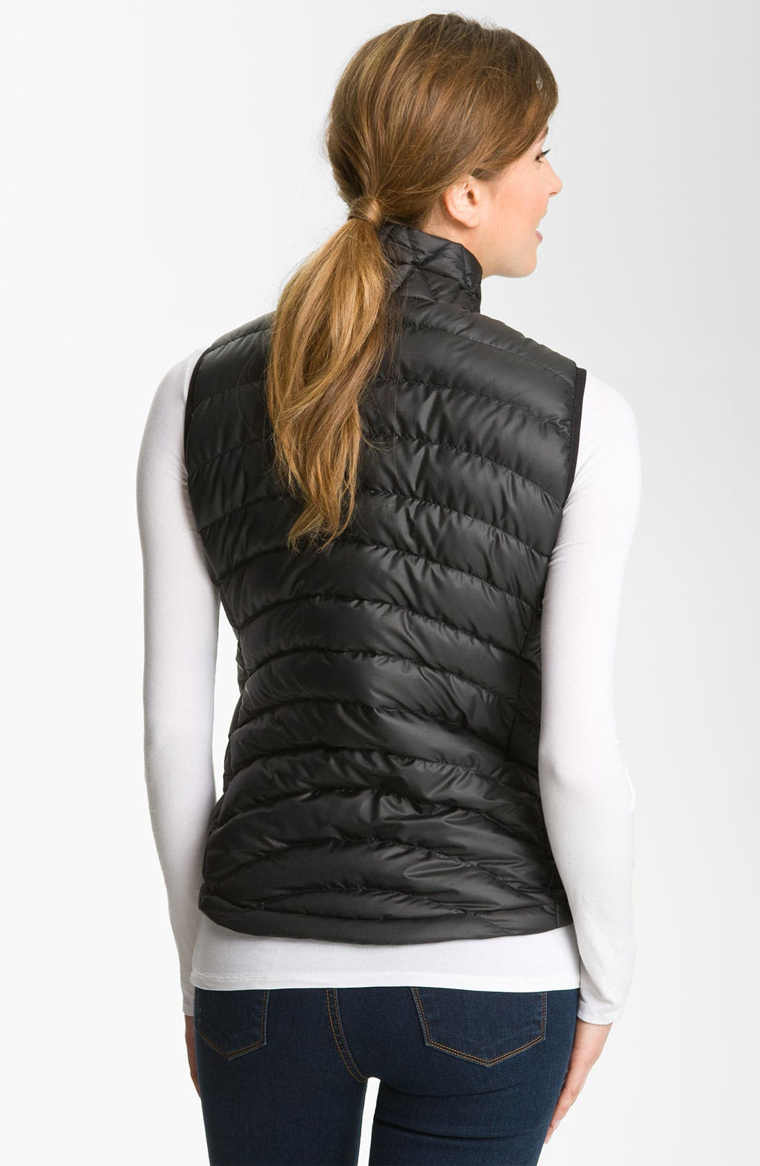 'Down Sweater' Vest,                             Alternate thumbnail 3, color,                             001