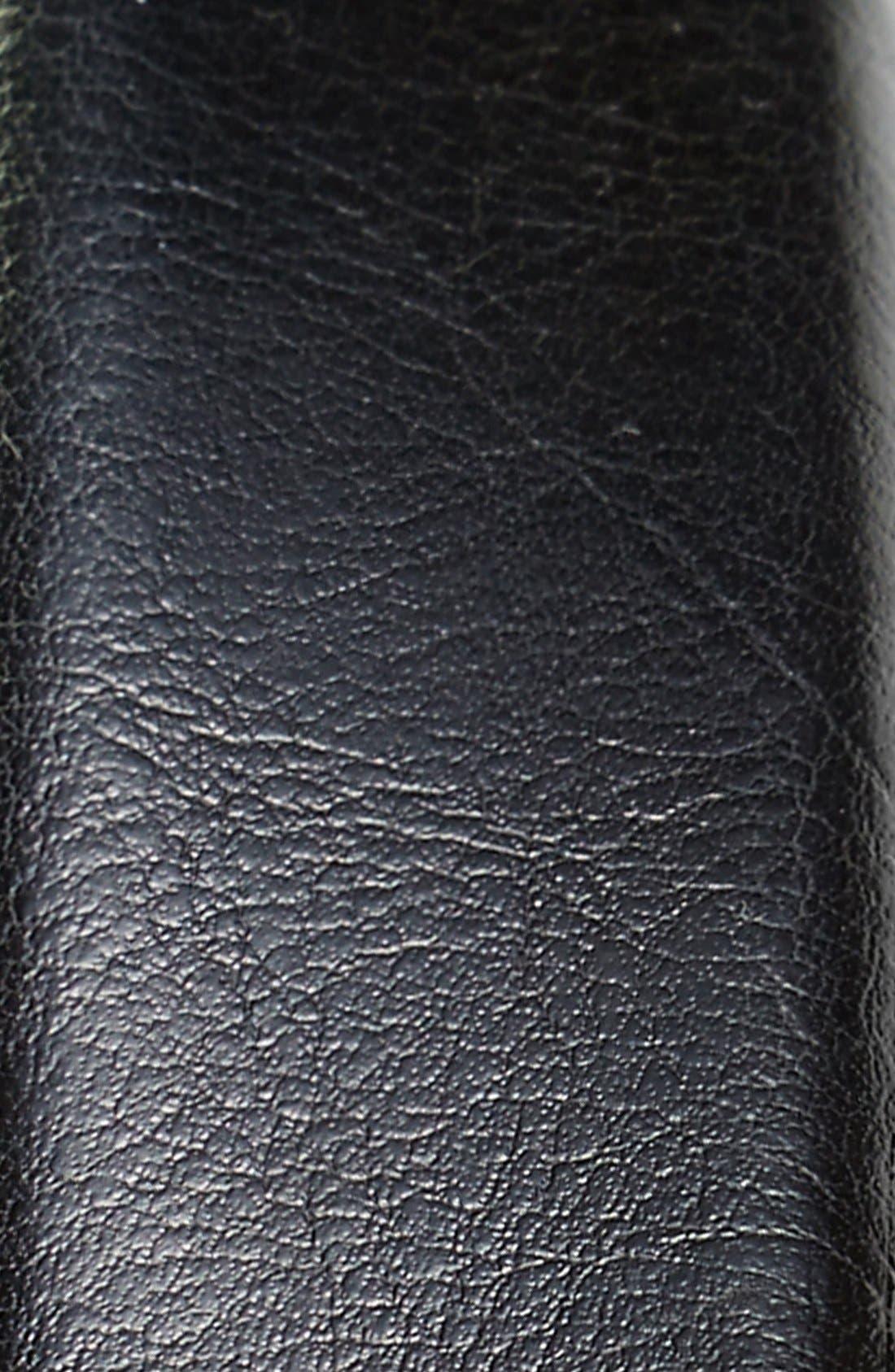 'Rafferty' Leather Belt,                             Alternate thumbnail 2, color,                             BLACK