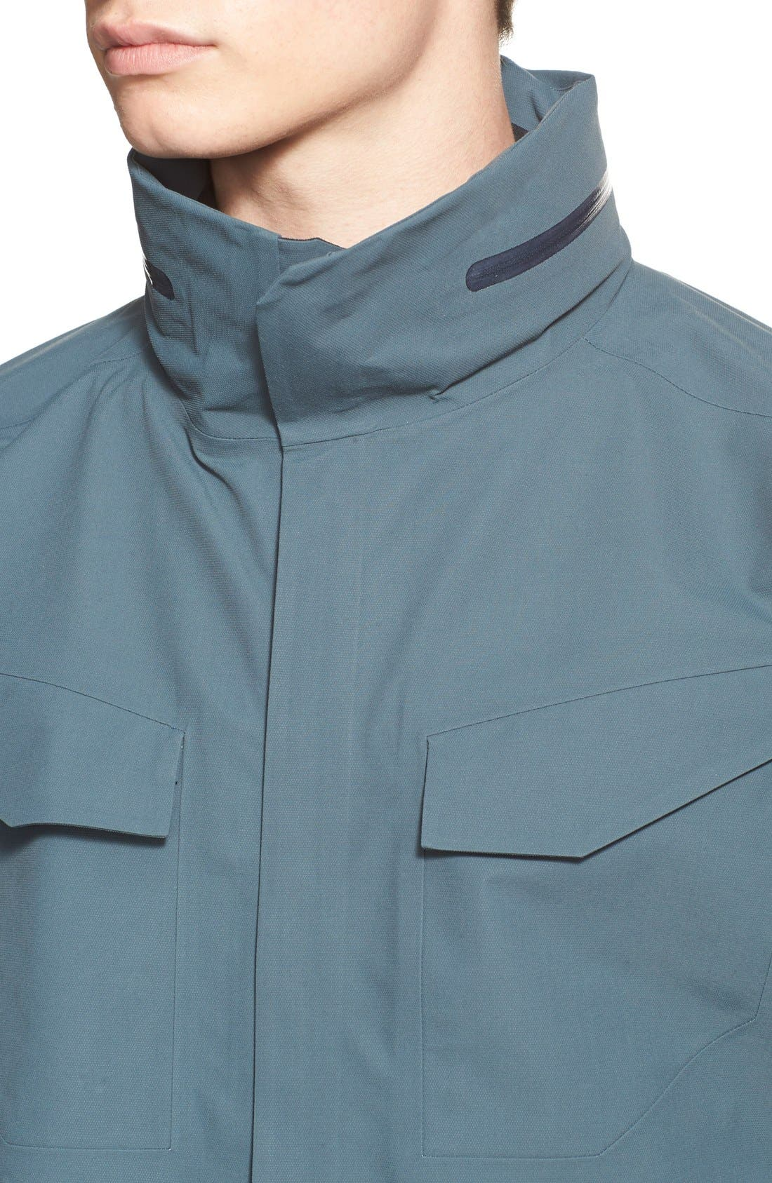 ARC'TERYX VEILANCE,                             Waterproof Field Jacket,                             Alternate thumbnail 4, color,                             400