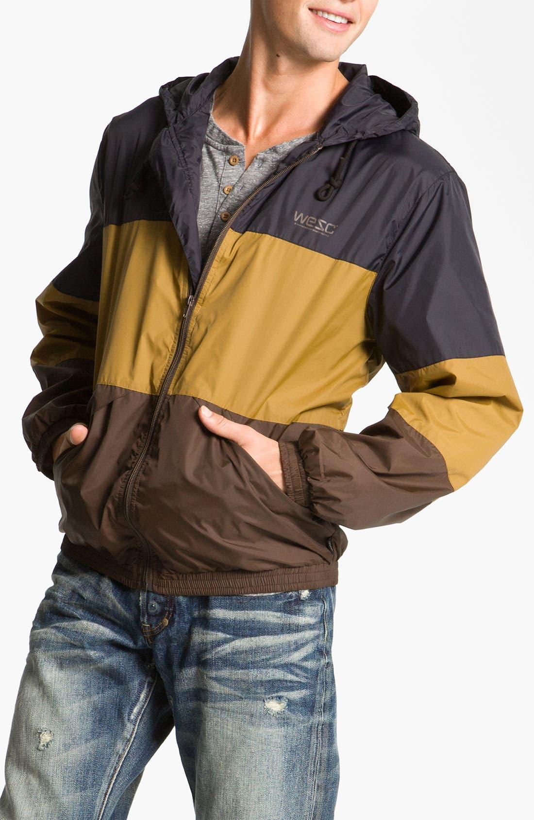 'Magnus' Windbreaker Jacket, Main, color, 001